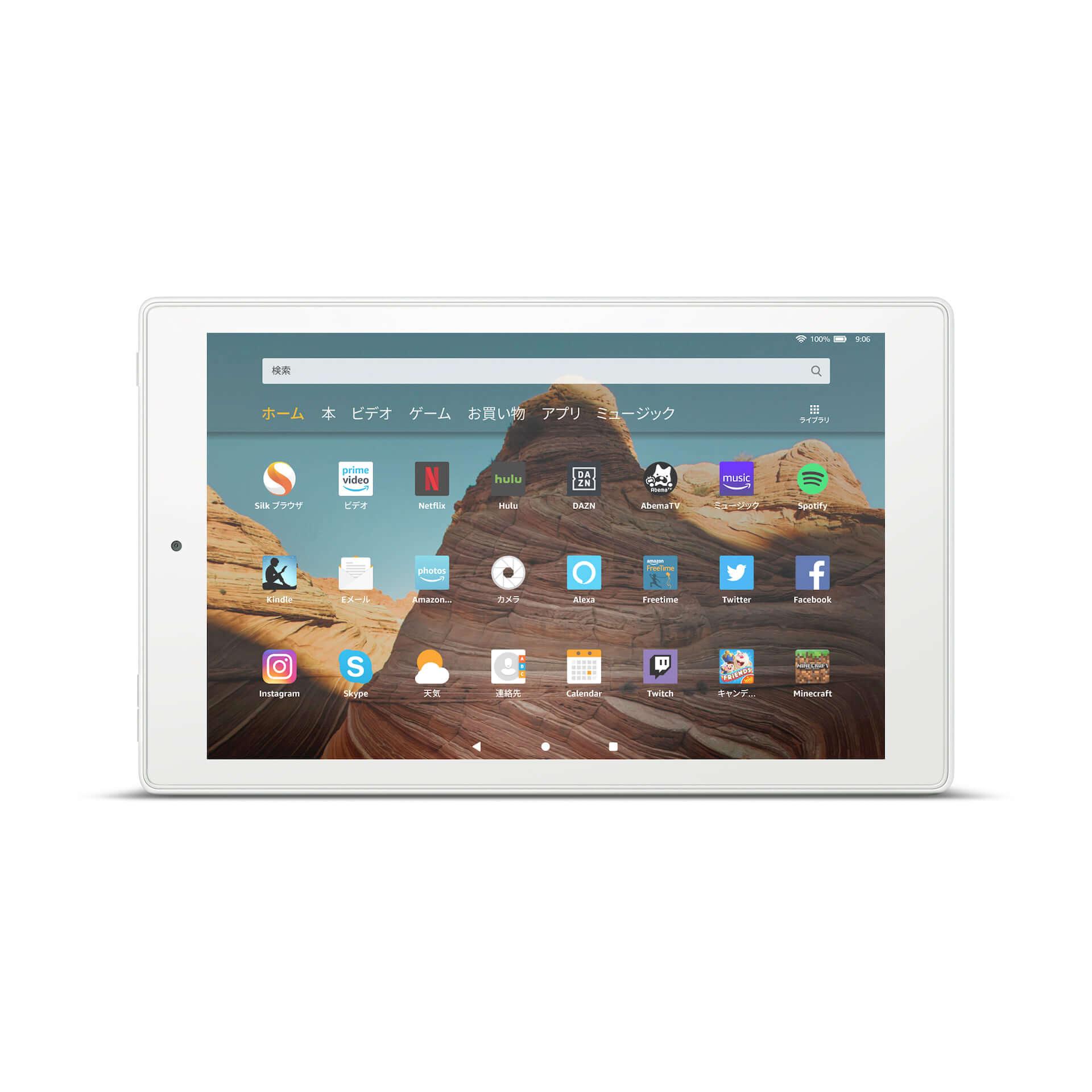 Amazon、大画面10.1インチ、USB Type-C搭載の「Fire HD 10 タブレット」が新登場! tech191008fire-hd-10_04-1920x1920