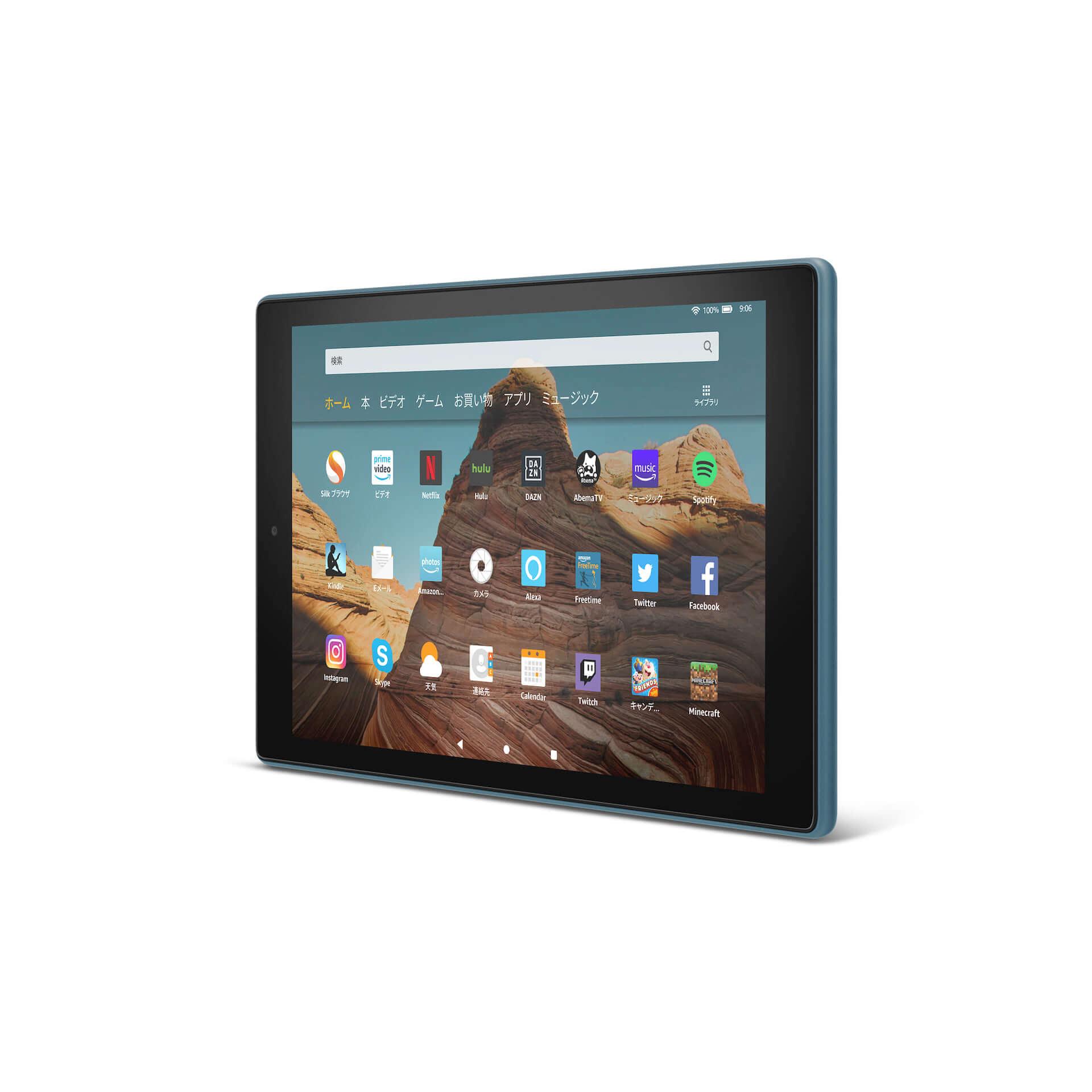 Amazon、大画面10.1インチ、USB Type-C搭載の「Fire HD 10 タブレット」が新登場! tech191008fire-hd-10_05-1920x1920