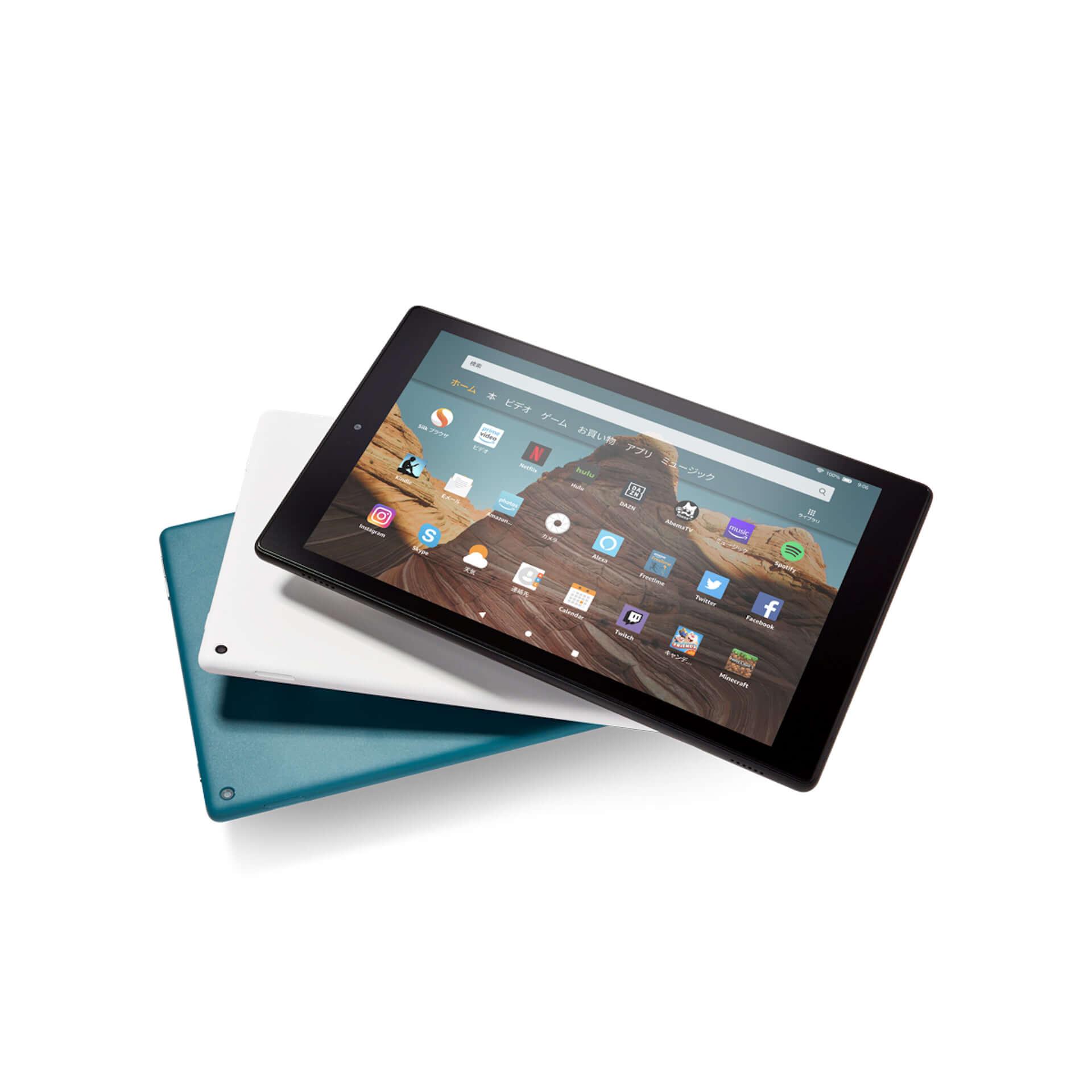 Amazon、大画面10.1インチ、USB Type-C搭載の「Fire HD 10 タブレット」が新登場! tech191008fire-hd-10_06-1920x1920