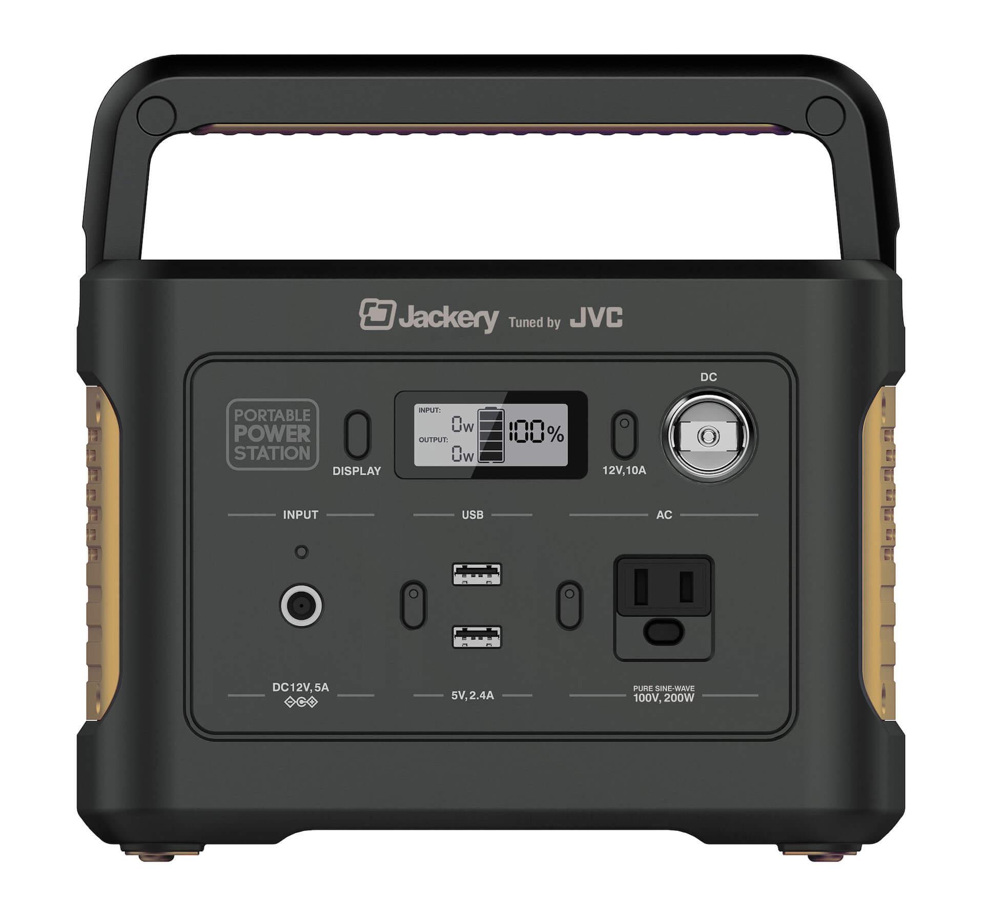 アウトドアや災害時の電源確保に大活躍|最大約44時間使用可能なポータブル電源3モデルが登場 sub1-4