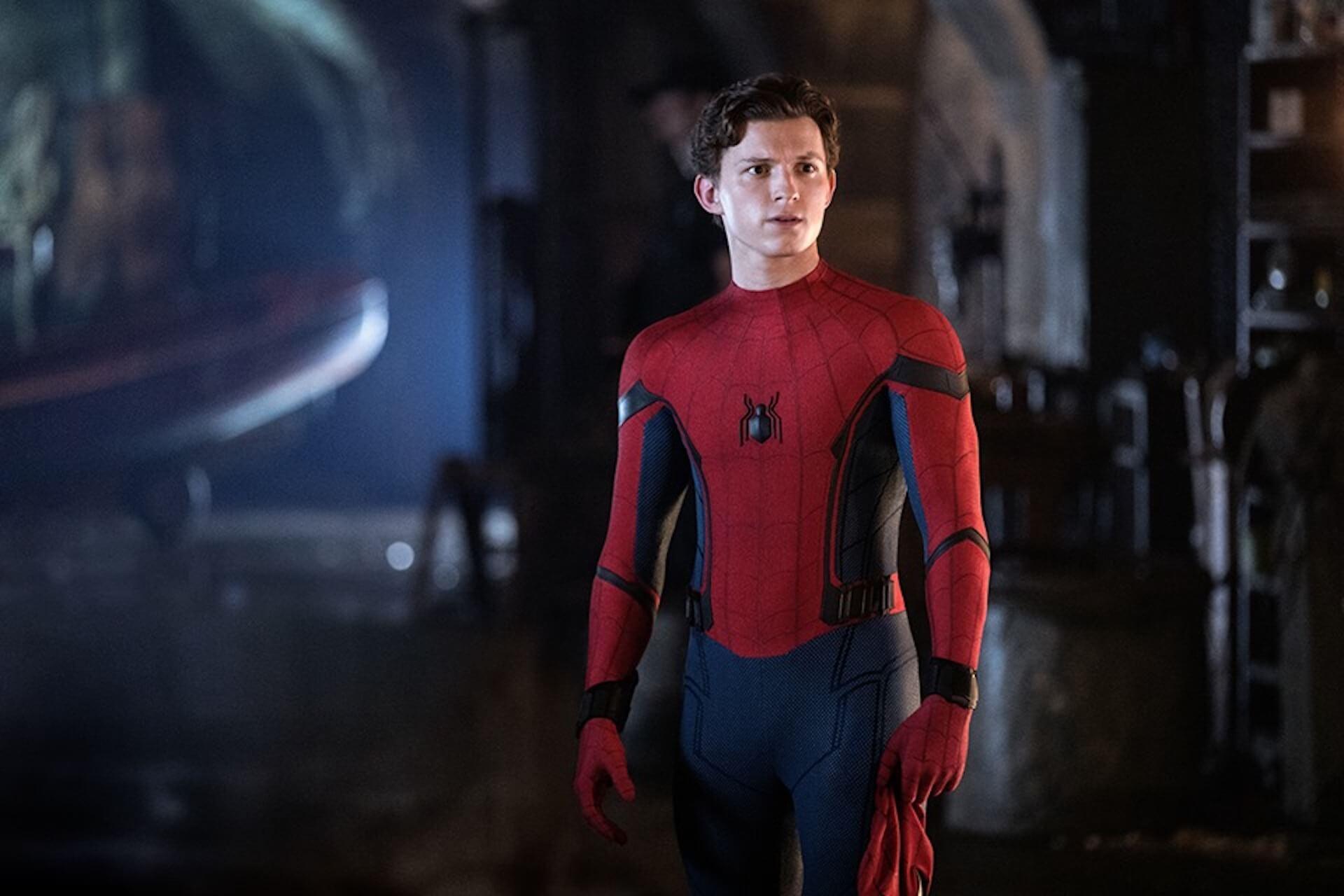 「スパイダーマン」トム・ホランドがまさか!?SNSで衝撃の姿を披露 film191009_spiderman_tomholland_main