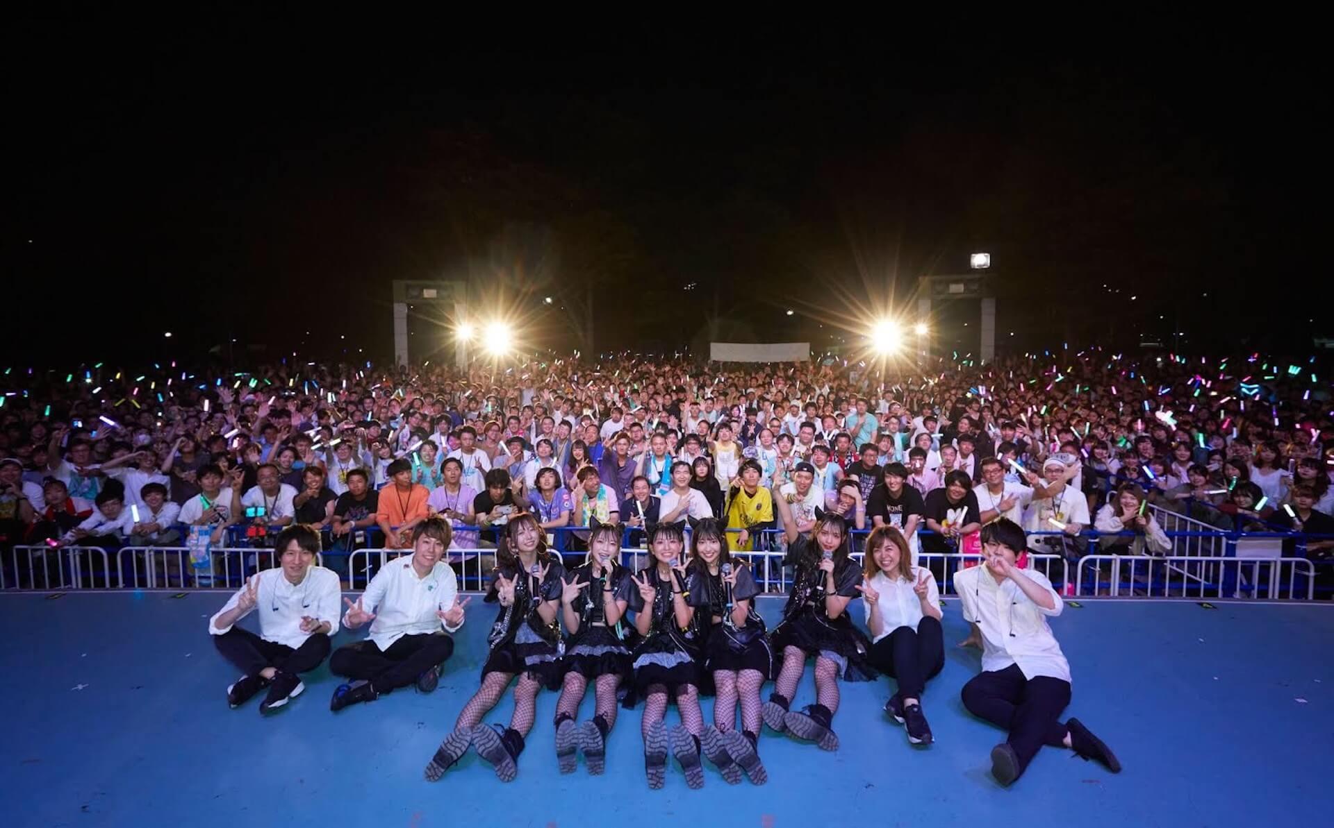 わーすた、代々木野外音楽堂でのFREE LIVE敢行で3,000人が大集結! art191009_waasuta_4