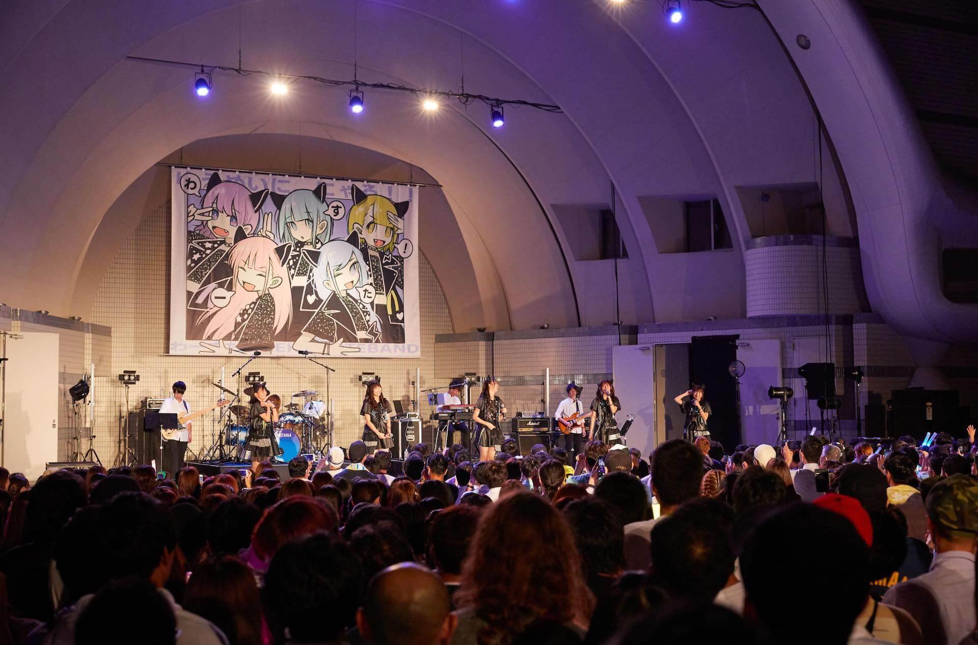 わーすた、代々木野外音楽堂でのFREE LIVE敢行で3,000人が大集結! art191009_waasuta_1