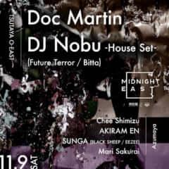 Midnight East - Doc Martin × DJ Nobu –