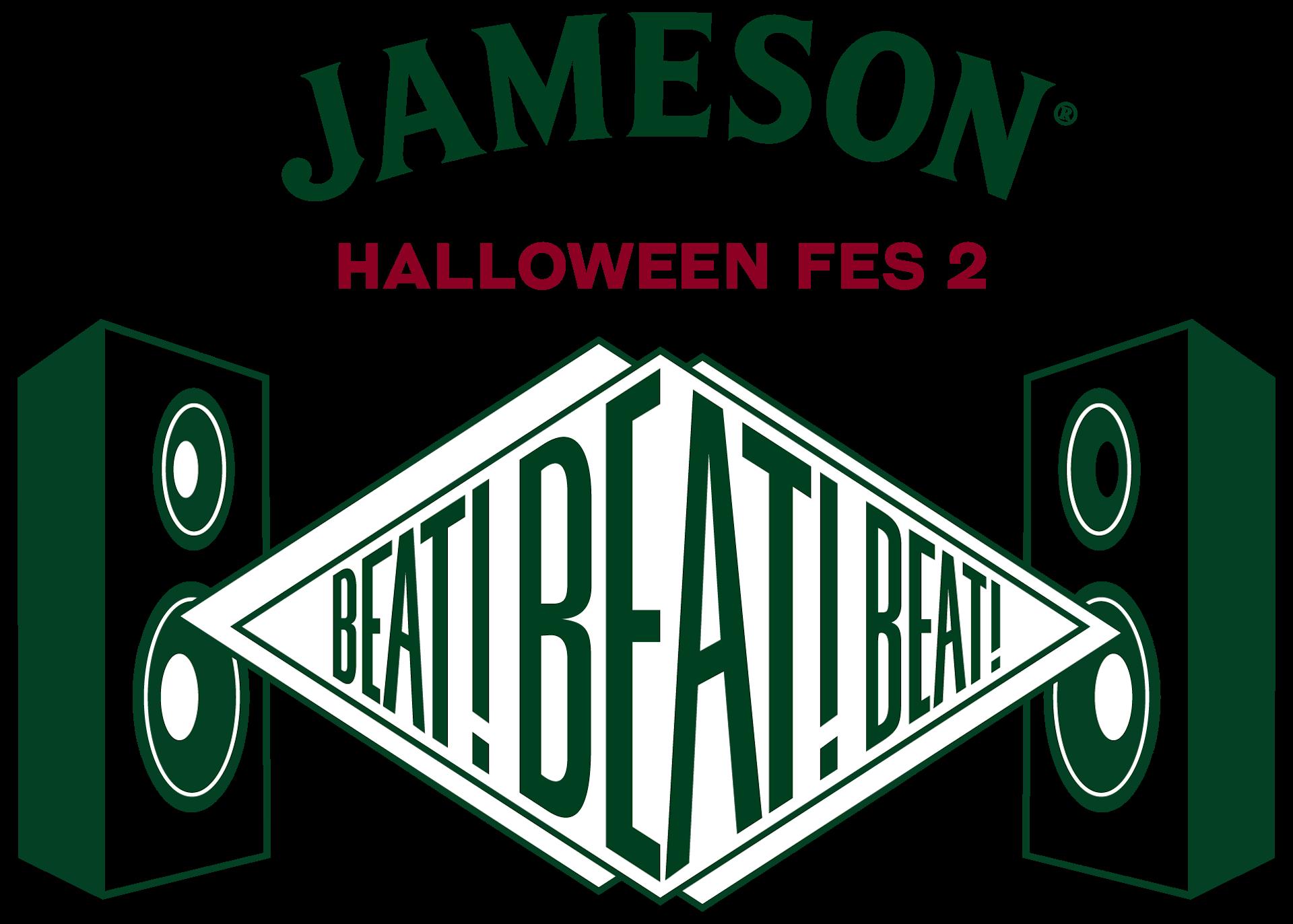 JAMESON×グッドモーニングアメリカ|金廣真悟が語る、お酒と音楽の関係性と<JAMESON HALLOWEEN FES 2>に向けて JHF2_Logo_4c