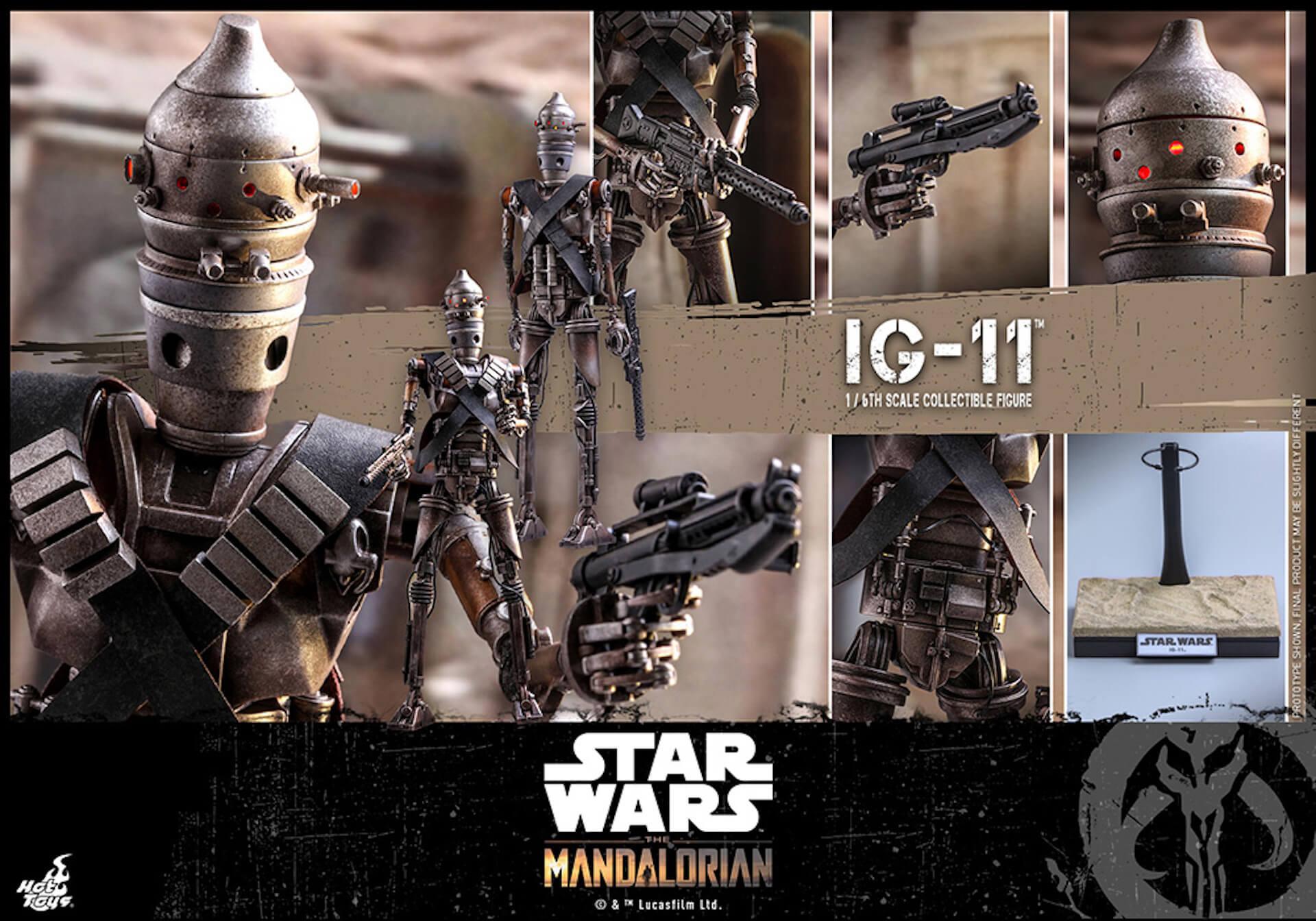 「スター・ウォーズ」テレビシリーズ『ザ・マンダロリアン』からマンダロリアン&IG-11のフィギュアがホットトイズに登場! art191010_starwars_toys_5