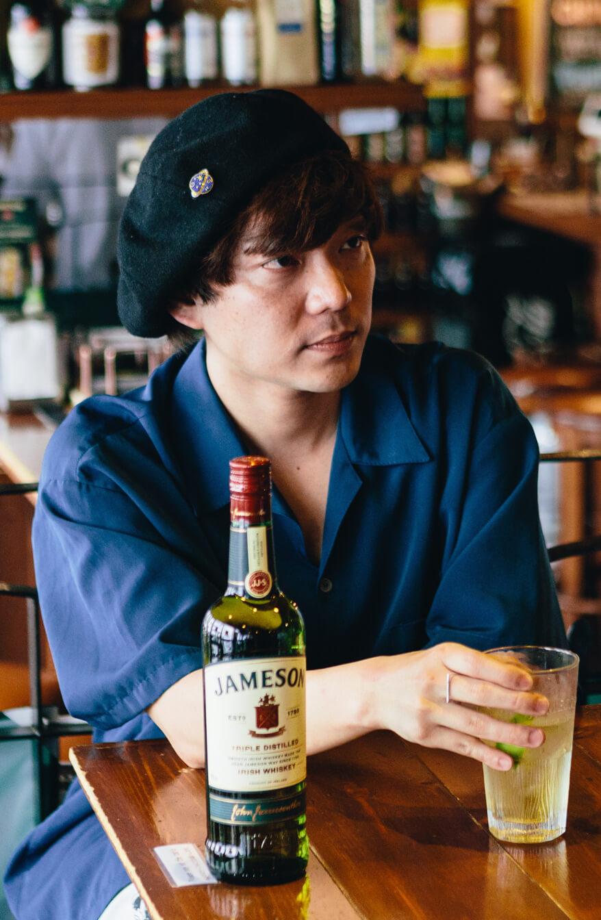 JAMESON×グッドモーニングアメリカ|金廣真悟が語る、お酒と音楽の関係性と<JAMESON HALLOWEEN FES 2>に向けて gdm_jameson_solo_11