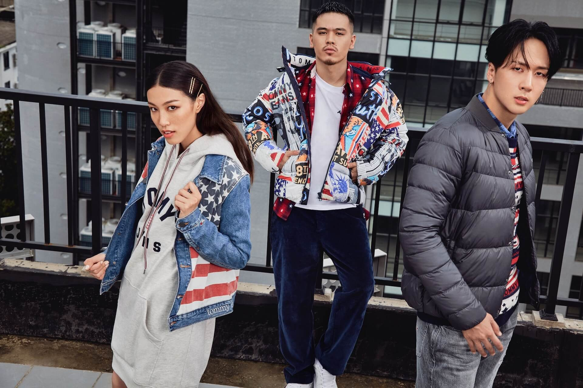 BAD HOP・T-Pablowや韓国人ラッパー・RAVIなどを起用したTOMMY JEANS 2019 Fall Collectionのビジュアルが公開 lifefashion191011_tommyjeans_3