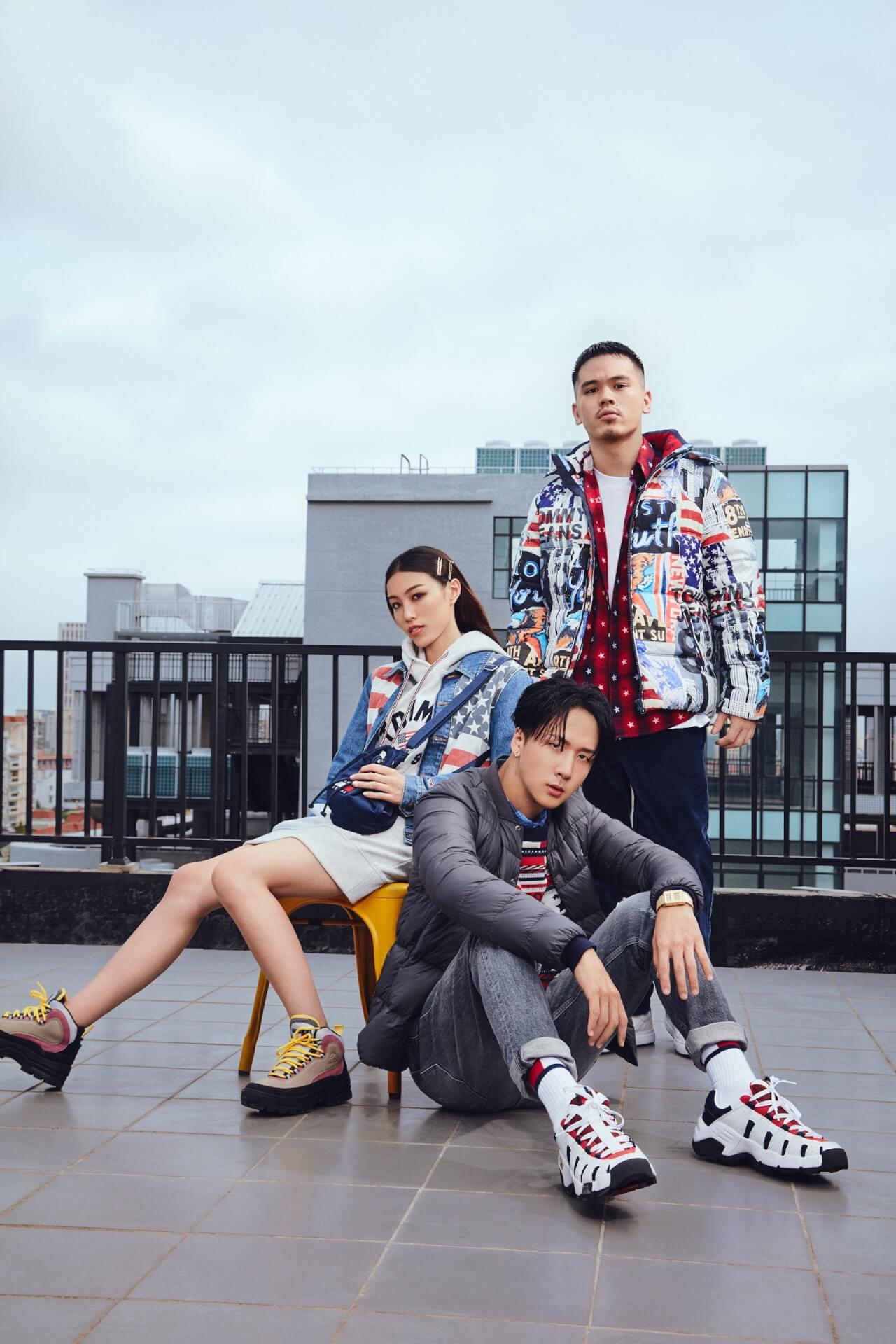 BAD HOP・T-Pablowや韓国人ラッパー・RAVIなどを起用したTOMMY JEANS 2019 Fall Collectionのビジュアルが公開 lifefashion191011_tommyjeans_4
