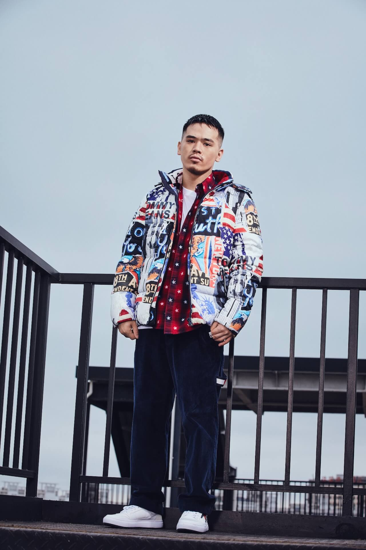 BAD HOP・T-Pablowや韓国人ラッパー・RAVIなどを起用したTOMMY JEANS 2019 Fall Collectionのビジュアルが公開 lifefashion191011_tommyjeans_5