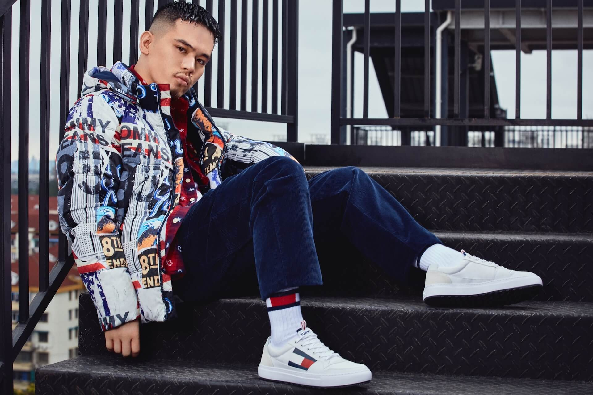 BAD HOP・T-Pablowや韓国人ラッパー・RAVIなどを起用したTOMMY JEANS 2019 Fall Collectionのビジュアルが公開 lifefashion191011_tommyjeans_6