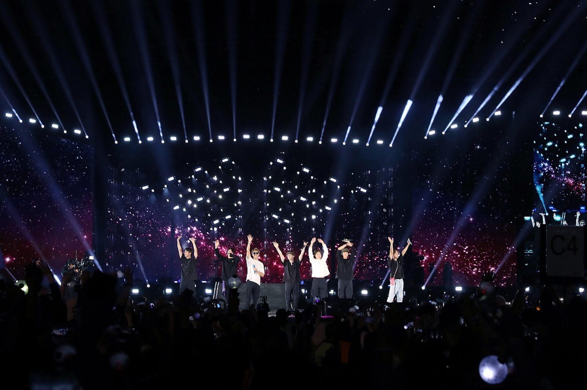 BTS、海外アーティスト初サウジアラビアのスタジアム単独コンサート開催!全世界のファンと一つになった歴史的瞬間 music191011-bts-1