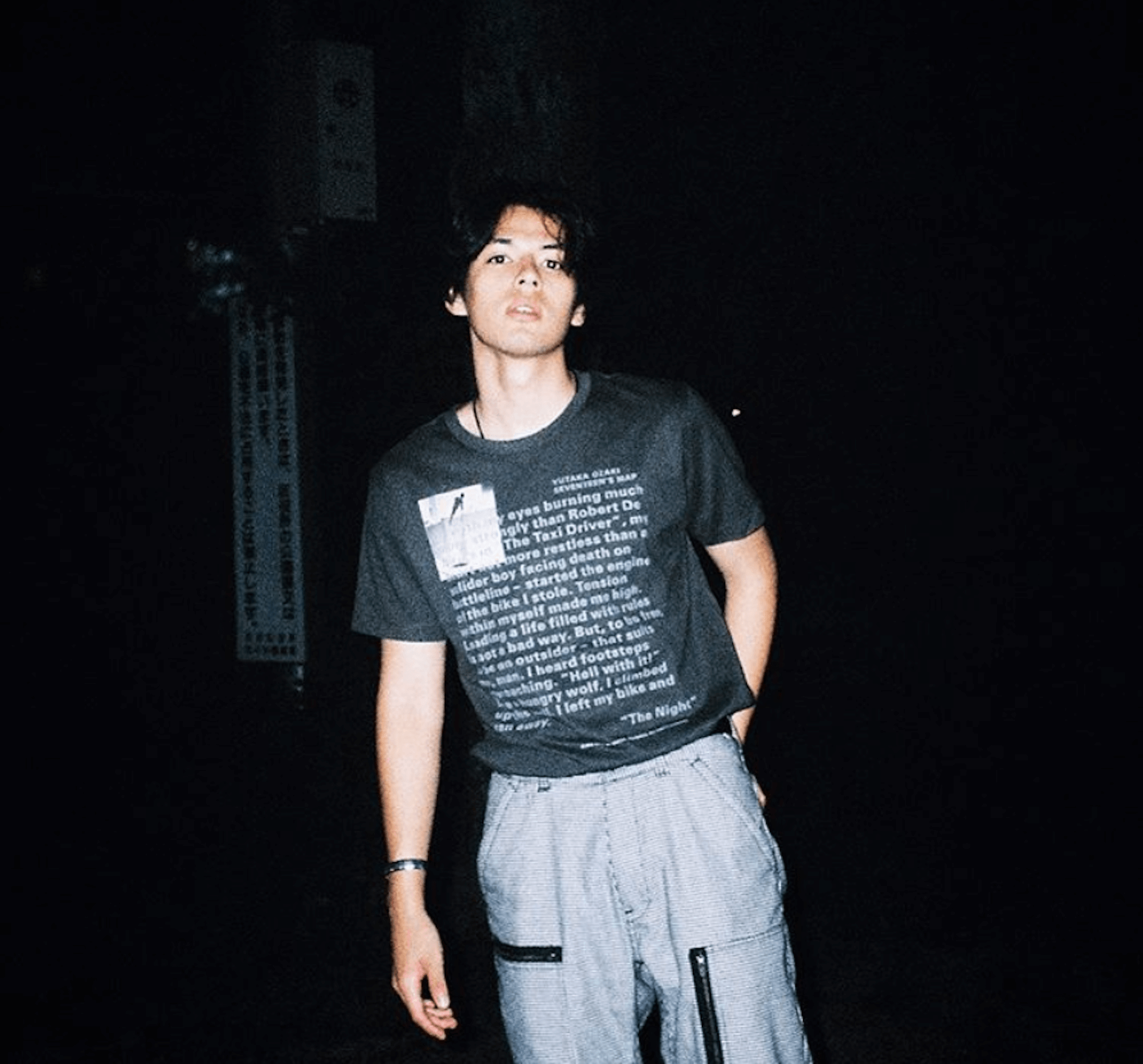 渋谷で尾崎豊の「卒業」を熱唱する謎のイケメンハーフ、INTERSECTION・青山ウィリアムに注目! 4dca17a63c78671fcb29abab1cdf3e70