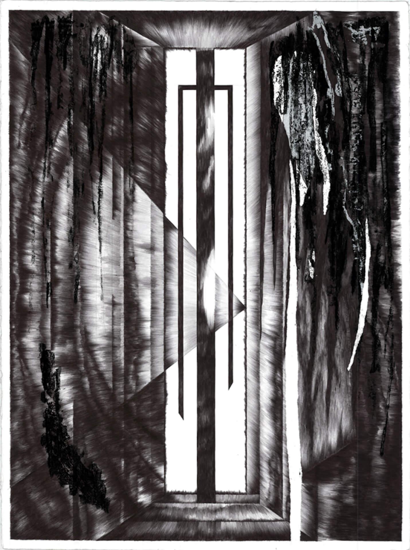 海外のトップクリエイターが注目するニューヨーク発のクリエイティブ集団「PAPERWORK」が日本初上陸 3_ang-giant-portal-drawing-smallres-copy