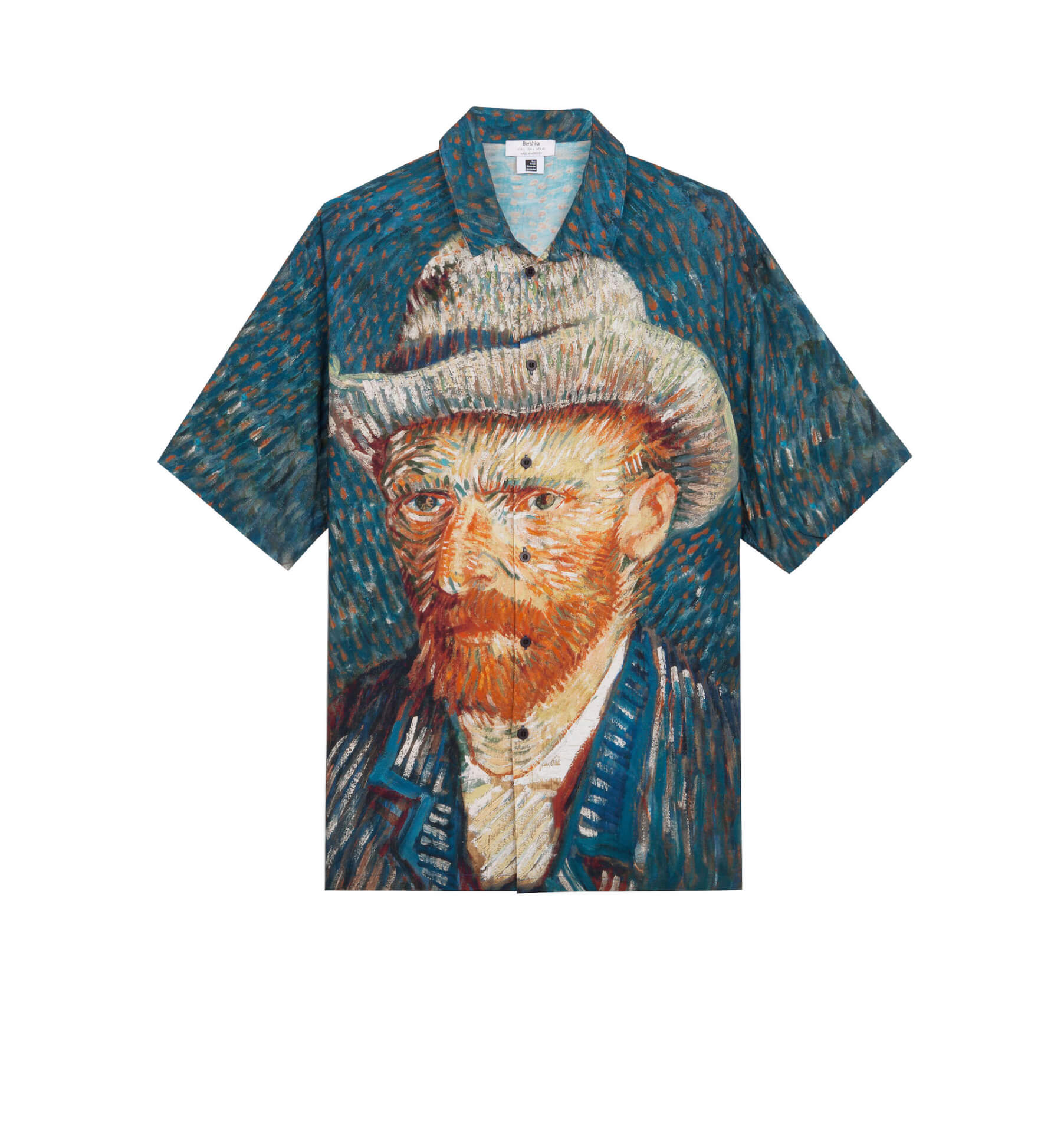 ゴッホ×Bershka 名作『ひまわり』や自画像をプリントしたスウェット、シャツが発売決定! lifefashion191017_bershkagogh_06jpg
