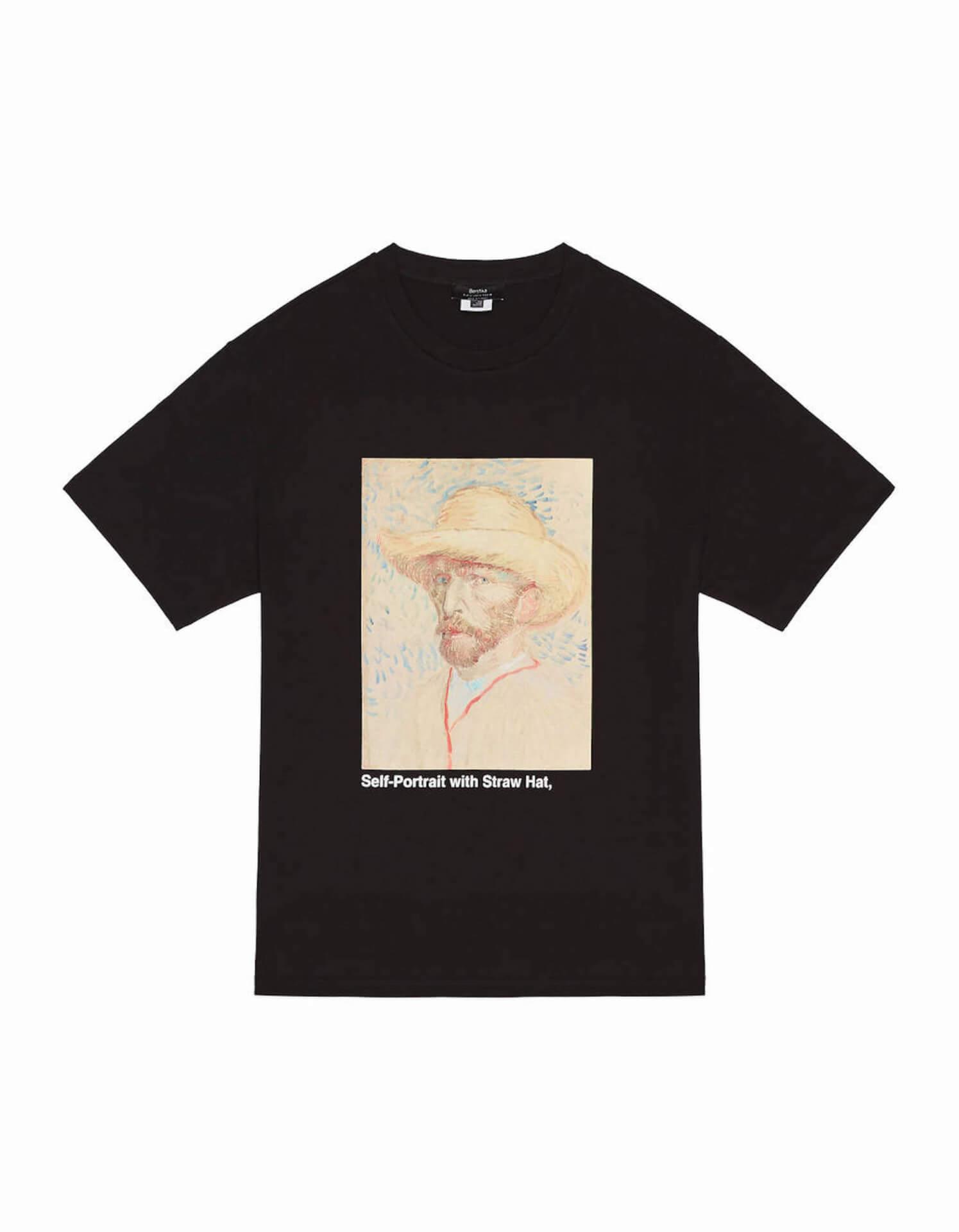 ゴッホ×Bershka 名作『ひまわり』や自画像をプリントしたスウェット、シャツが発売決定! lifefashion191017_bershkagogh_09