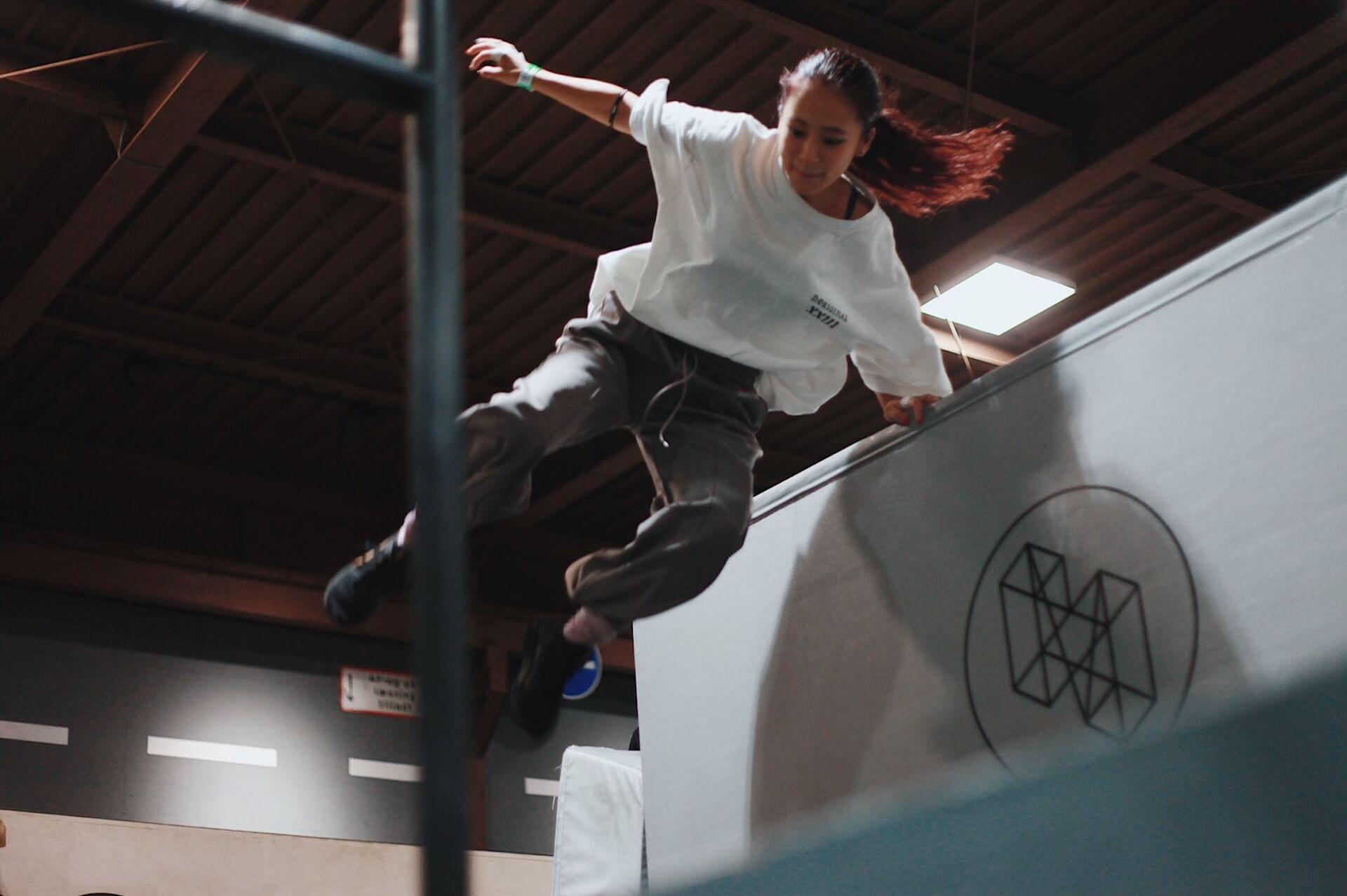 テラハで話題の「パルクールちゃん」こと田辺莉咲子がパルクール日本選手権出場決定! art-culture191017-risako-tanabe-1