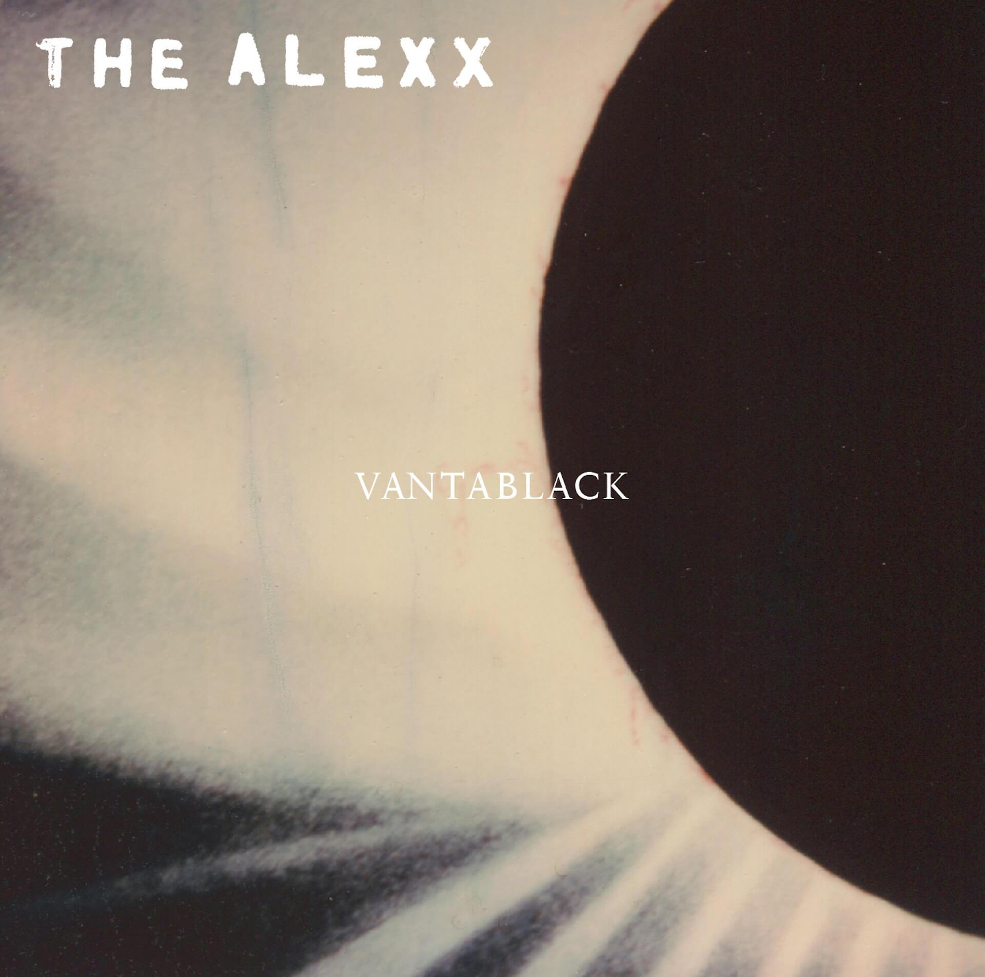 〈REXY SONG〉初の日本人アーティストTHE ALEXXがデビューアルバム『VANTABLACK』リリース決定! music191018_thealexx_album_main