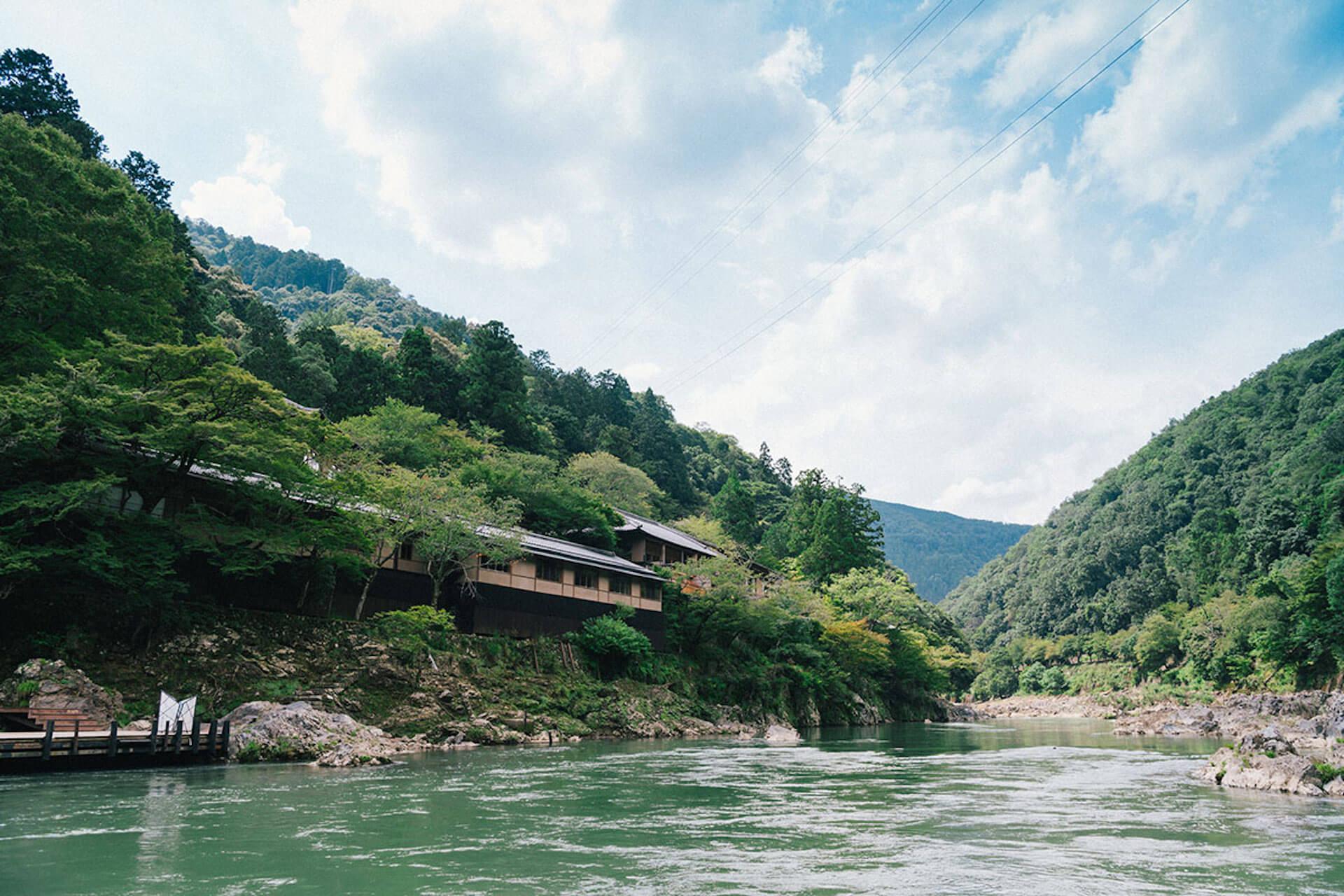 京都・嵐山から舟で非日常へトリップ! 水辺のラグジュアリーホテル『星のや京都』で極上体験 1