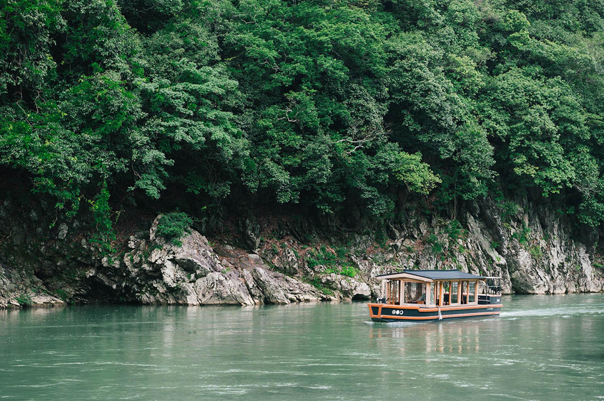 京都・嵐山から舟で非日常へトリップ! 水辺のラグジュアリーホテル『星のや京都』で極上体験 4