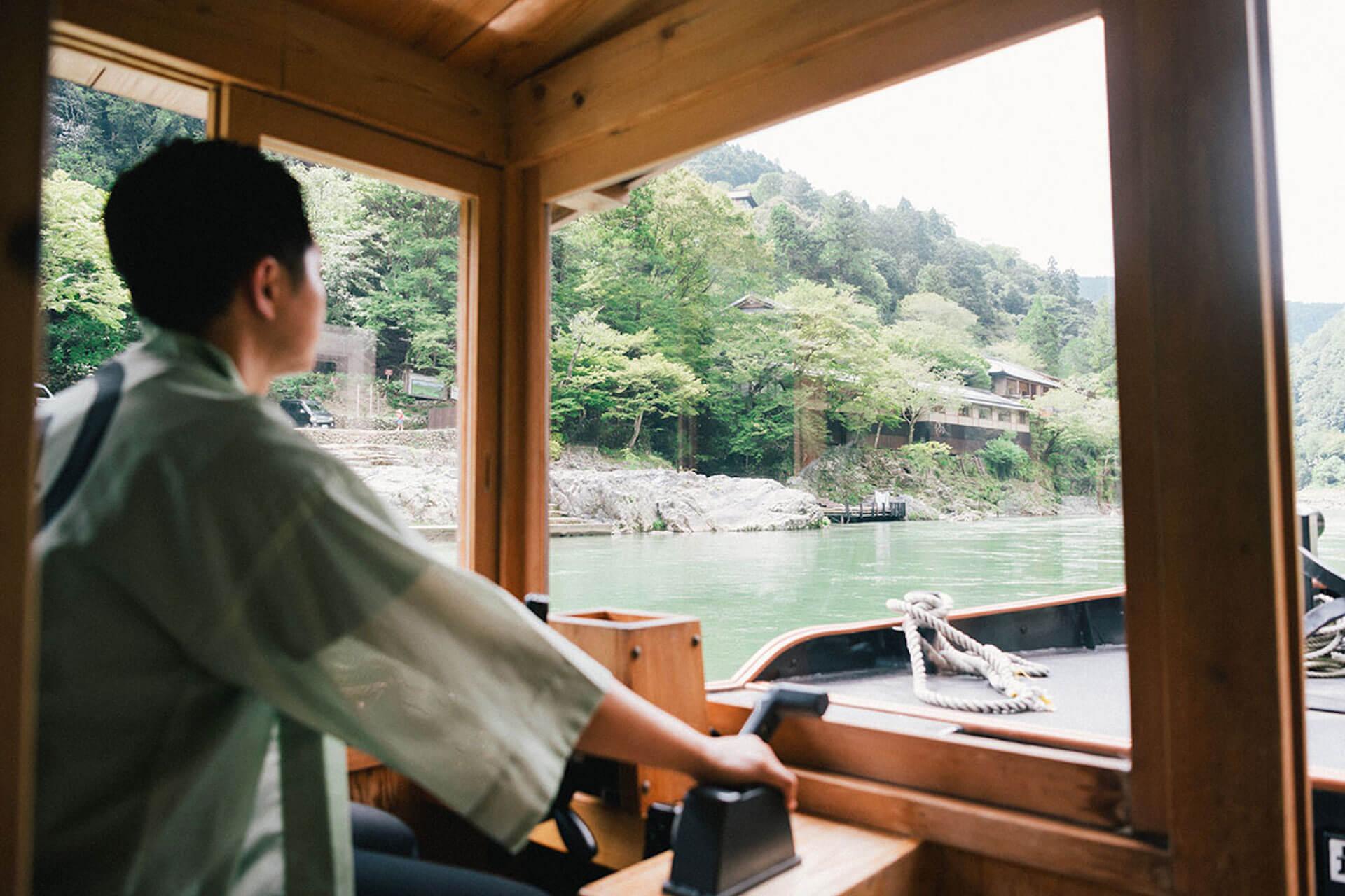 京都・嵐山から舟で非日常へトリップ! 水辺のラグジュアリーホテル『星のや京都』で極上体験 6-1