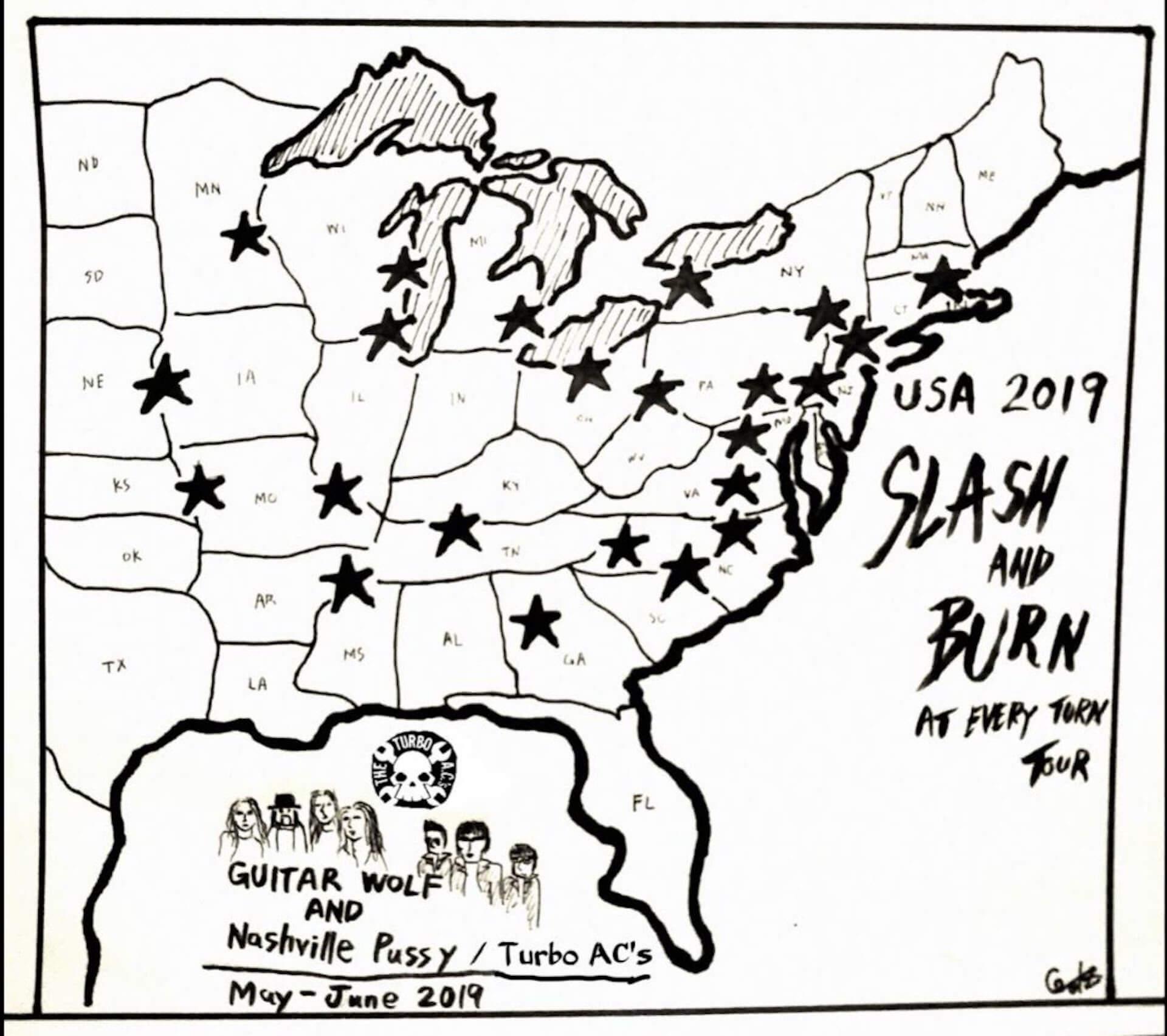 【前編】アメリカに熱狂をもたらす革ジャンの漢たち ギターウルフのアメリカツアー密着レポ column1909-guiterwolf-24