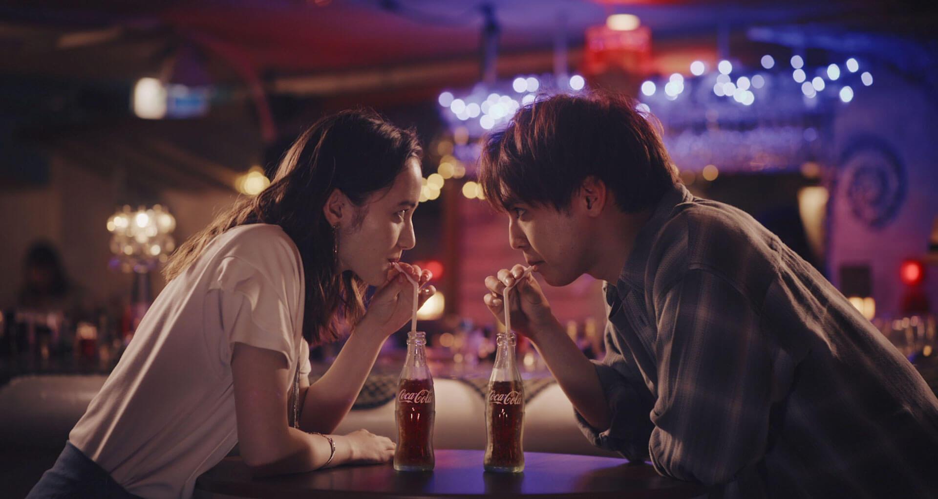 GENERATIONS片寄涼太扮する綾瀬楓が「コカ・コーラ」CMに出演!?全女子の夢と妄想いっぱいの劇中CM映像が公開 NIGHT_s