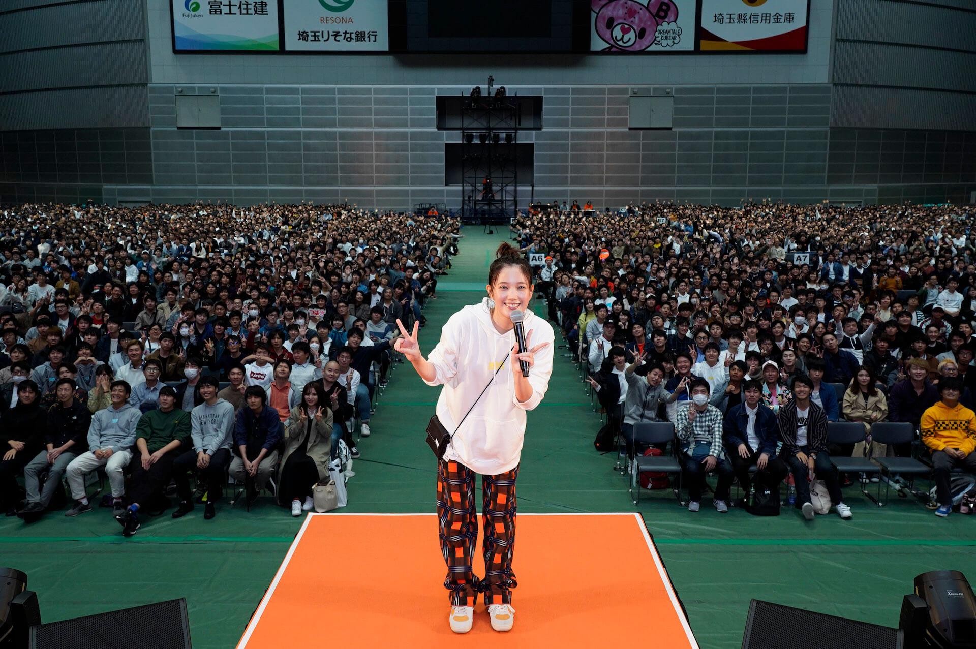本田翼、YouTubeアカウントほんだのばいく開設1周年イベントで大興奮!レポートが到着 art191023_hondanobike_1