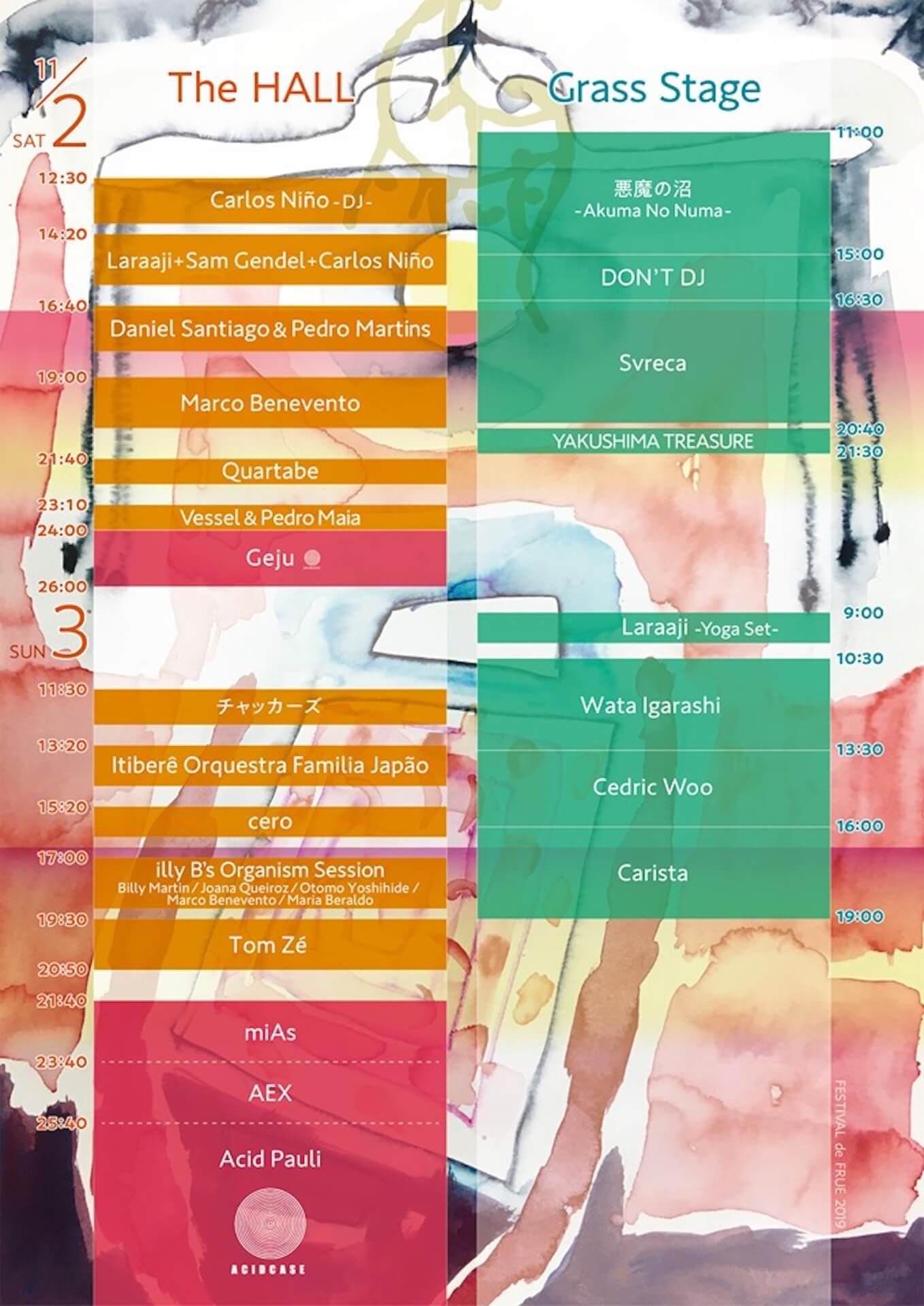 <FESTIVAL de FRUE>がつま恋リゾートで今年も開催|トン・ゼー、YAKUSHIMA TREASURE、ceroらが登場 music191023_festivaldefrue_12