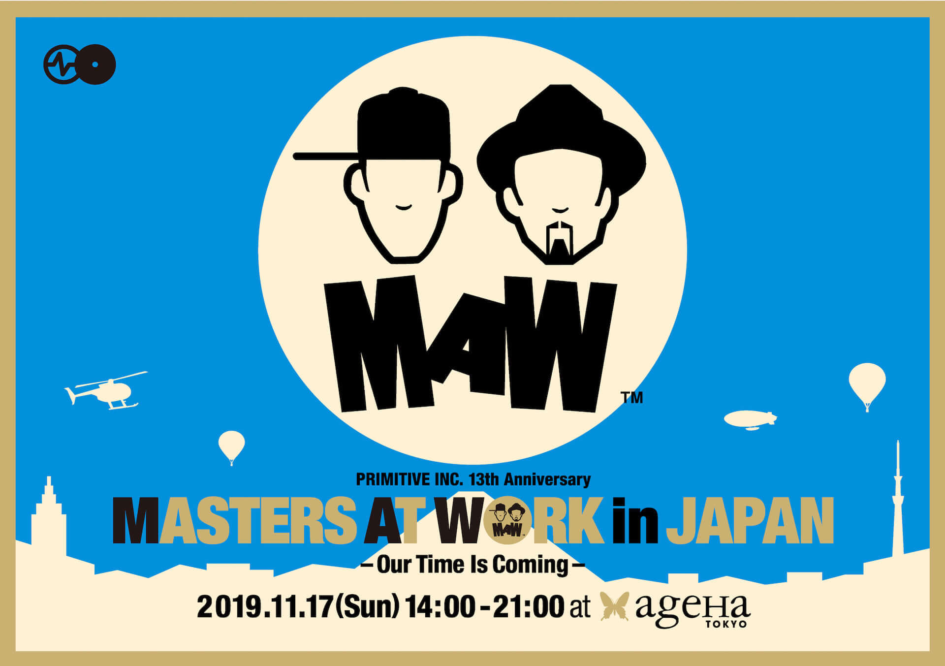 ルイー・ベガとケニー・ドープによる<MASTERS AT WORK in JAPAN>最終ラインナップが発表|okadadaやDazzle Drums、Mayurashkaらが登場 music191023_maw_main-1920x1353