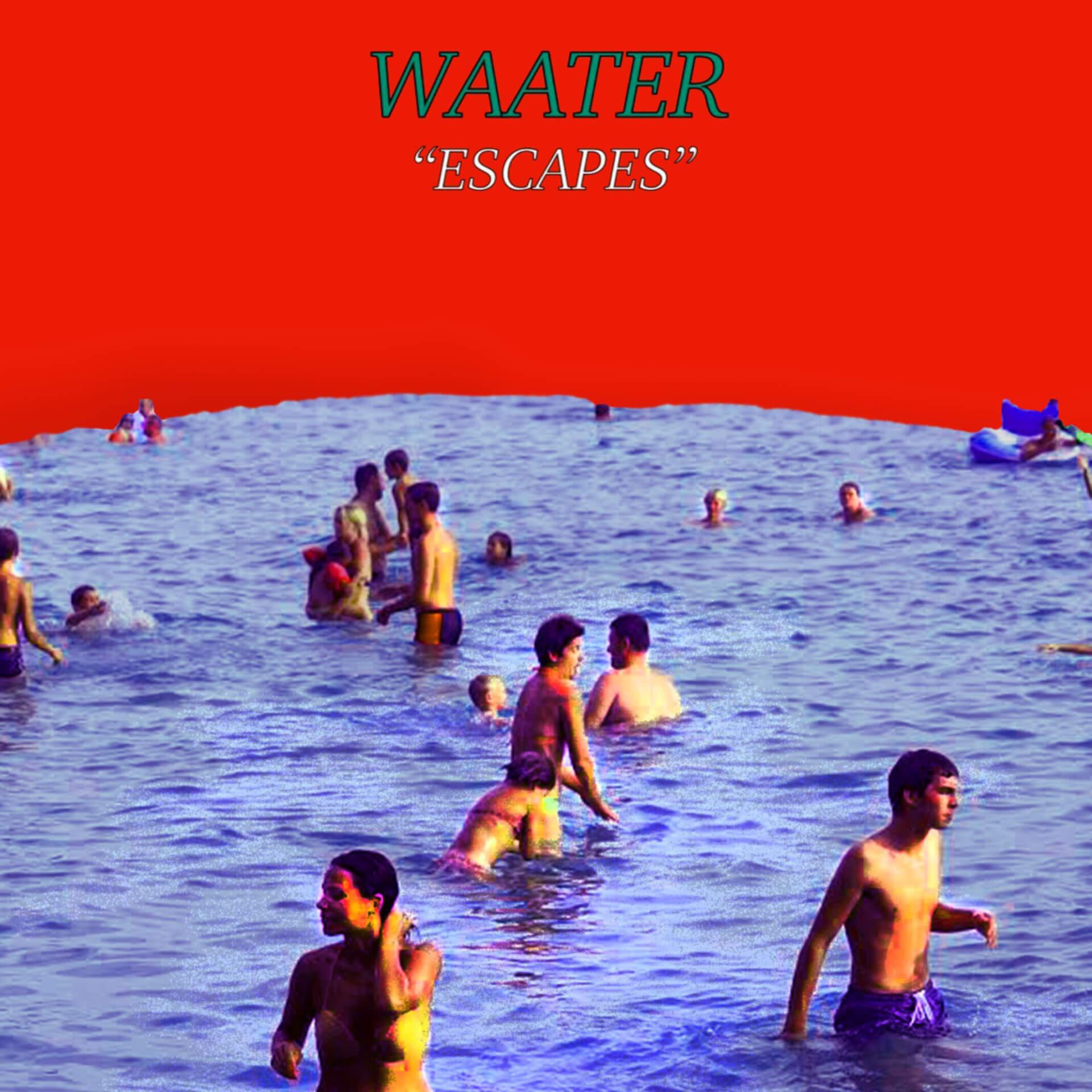 ネオ・パンク・バンドWaaterの2nd EP『Escapes』配信開始、EPから6本目となるMVも解禁 music0925_waater_escapes_jk