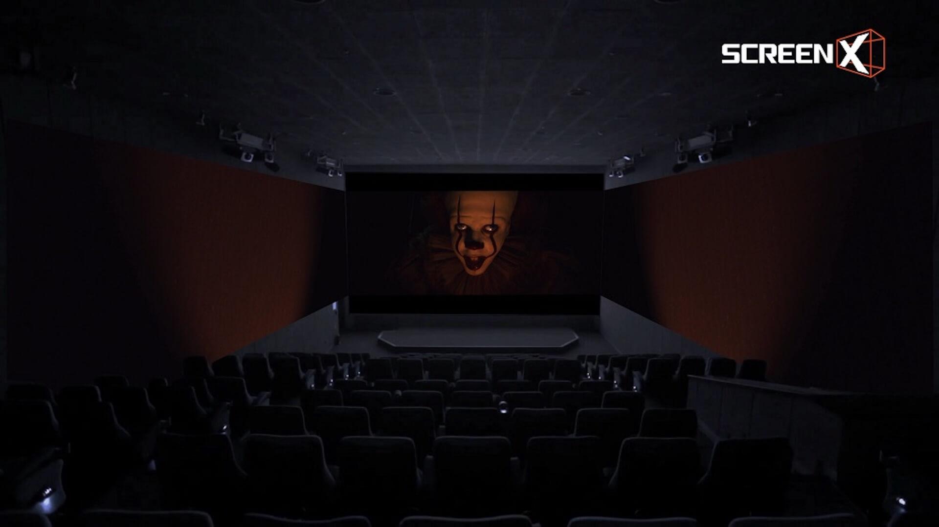 """270度・3面スクリーンからペニー・ワイズが襲いかかる!『IT/イット THE END """"それ""""が見えたら、終わり。』ScreenX上映決定 cf41f1daaccde9ab3d1e702a34b694ff"""
