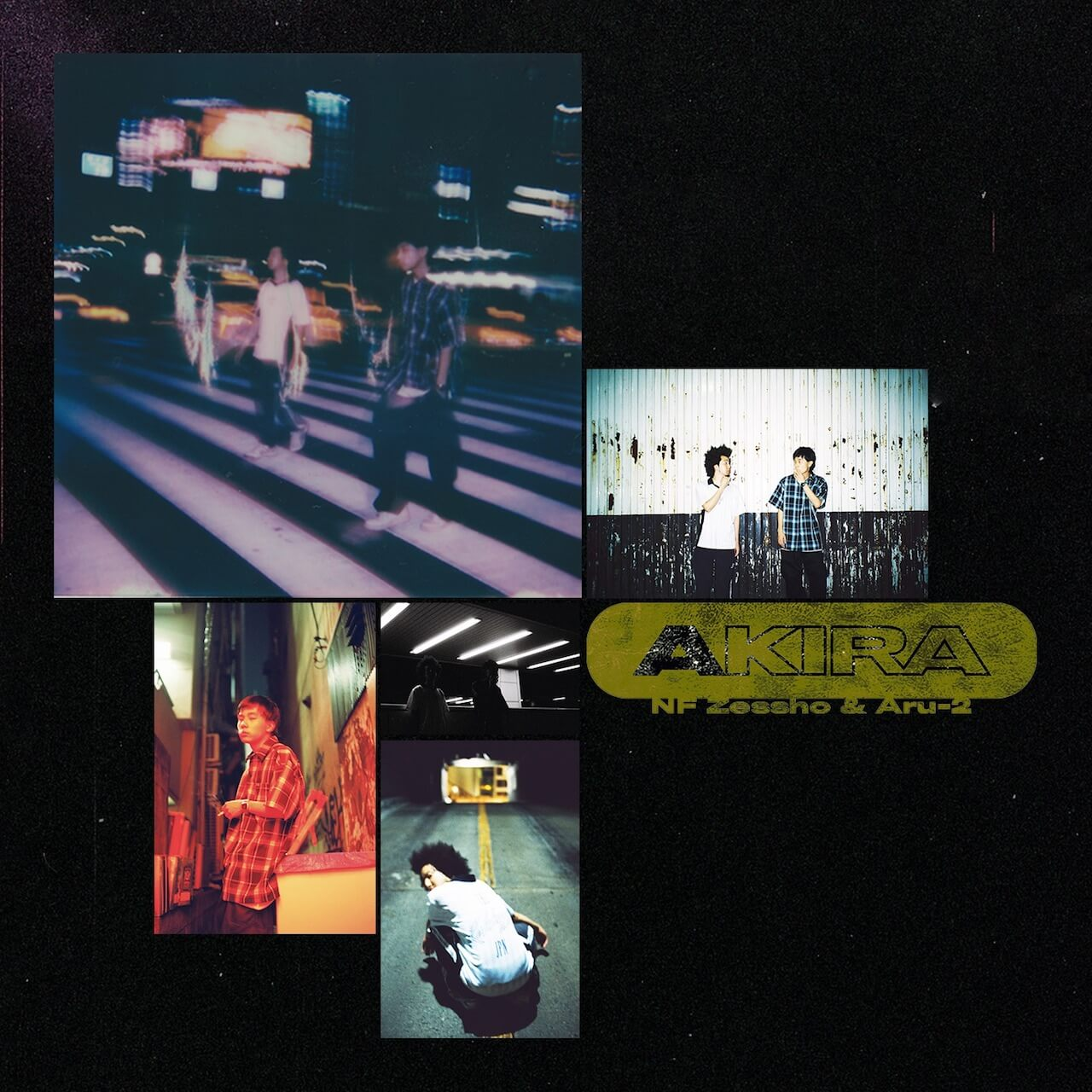 Aru-2とNF Zesshoのジョイント・アルバム『AKIRA』から「All Friends」の先行配信が本日よりスタート!Kunieda Shintaroの手掛けた同曲のティーザーも公開 music191101-nfzessho-aru2-akira-1