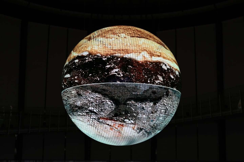 日本科学未来館で公開中の新映像作品『未来の地層 Digging the Future』に注目|環ROY & 鎮座DOPENESS + U-zhaanがラップで問いかける? art191001_diggingthefuture_2-1440x960