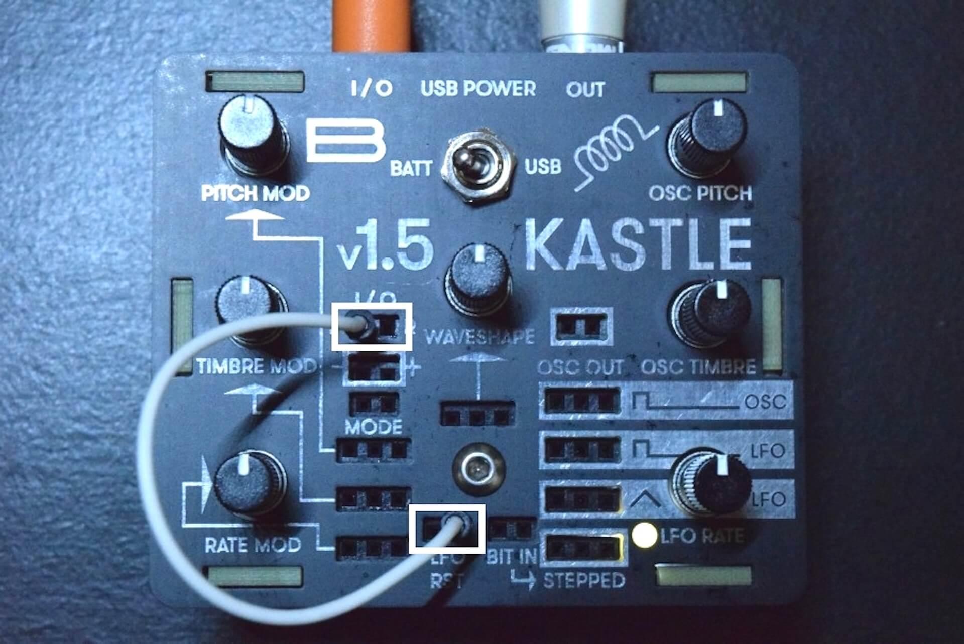 超小型モジュラー・シンセサイザー「KASTLE V1.5」のサウンドと魅力 f619f8c20d32bc53c8cbe1af6aee5415