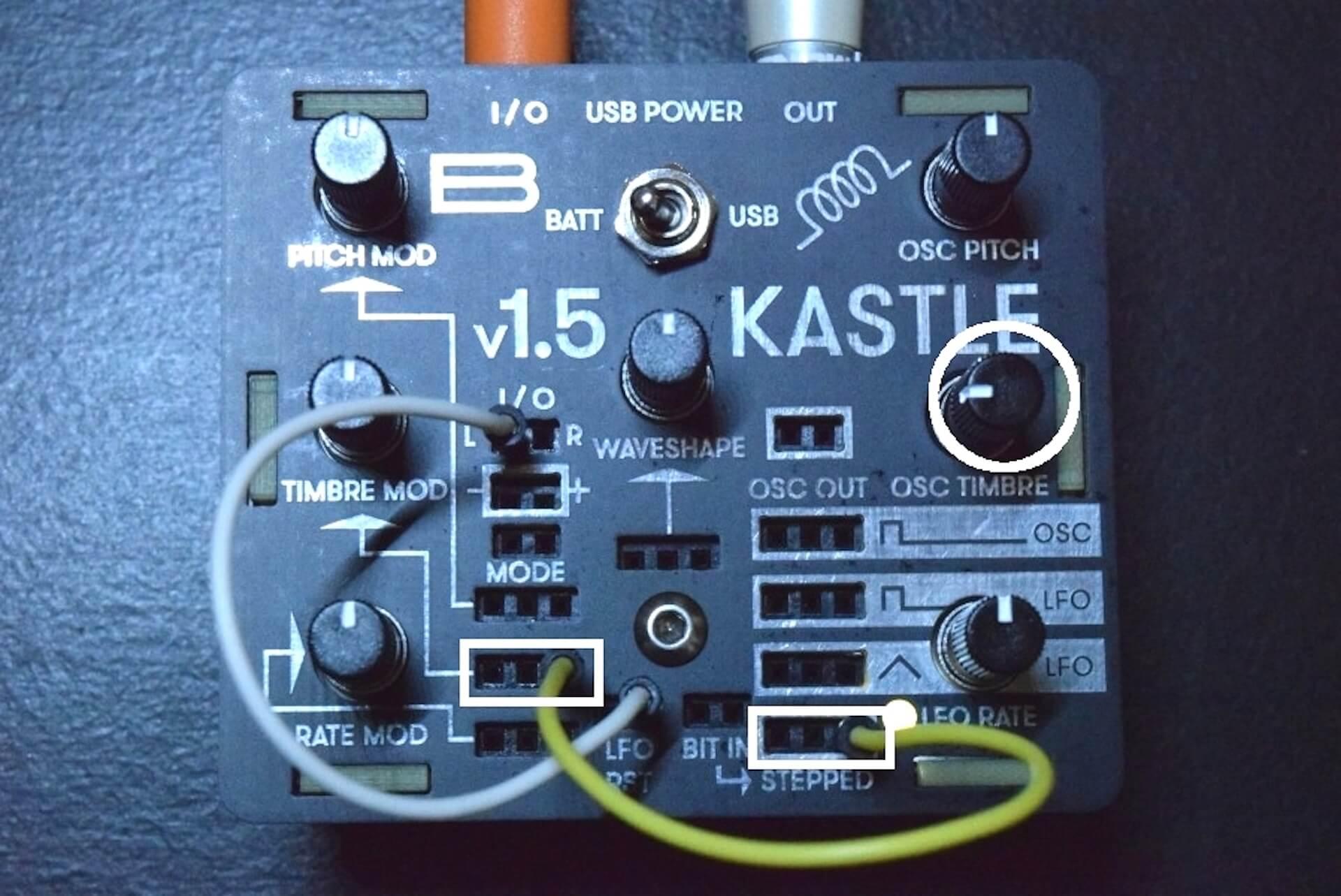 超小型モジュラー・シンセサイザー「KASTLE V1.5」のサウンドと魅力 2328bc9cdd65dcead29a0e12954b6679