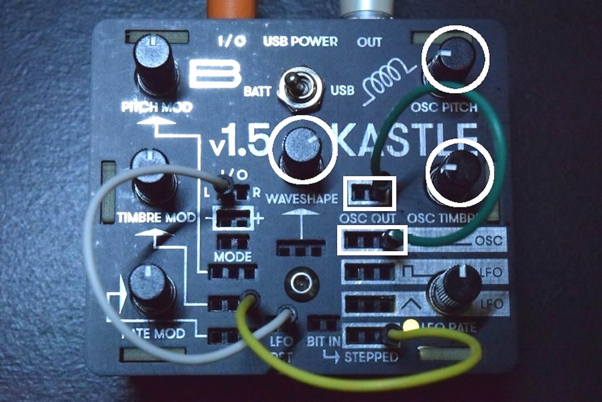 超小型モジュラー・シンセサイザー「KASTLE V1.5」のサウンドと魅力 7d6fc96bccca94e5025310f044ae390a