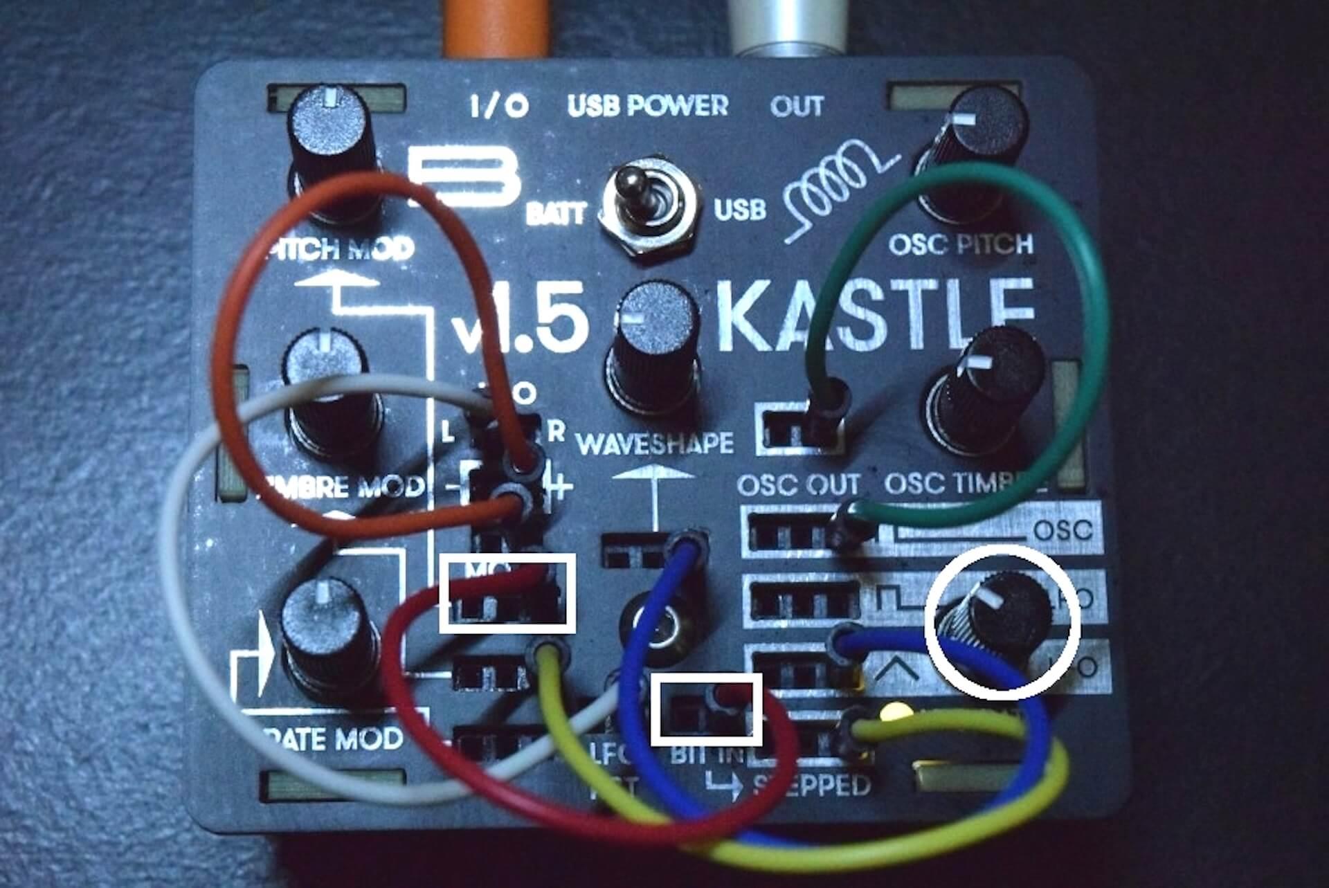超小型モジュラー・シンセサイザー「KASTLE V1.5」のサウンドと魅力 d50b15e8ec57ecd70f4797cd6331c2a8