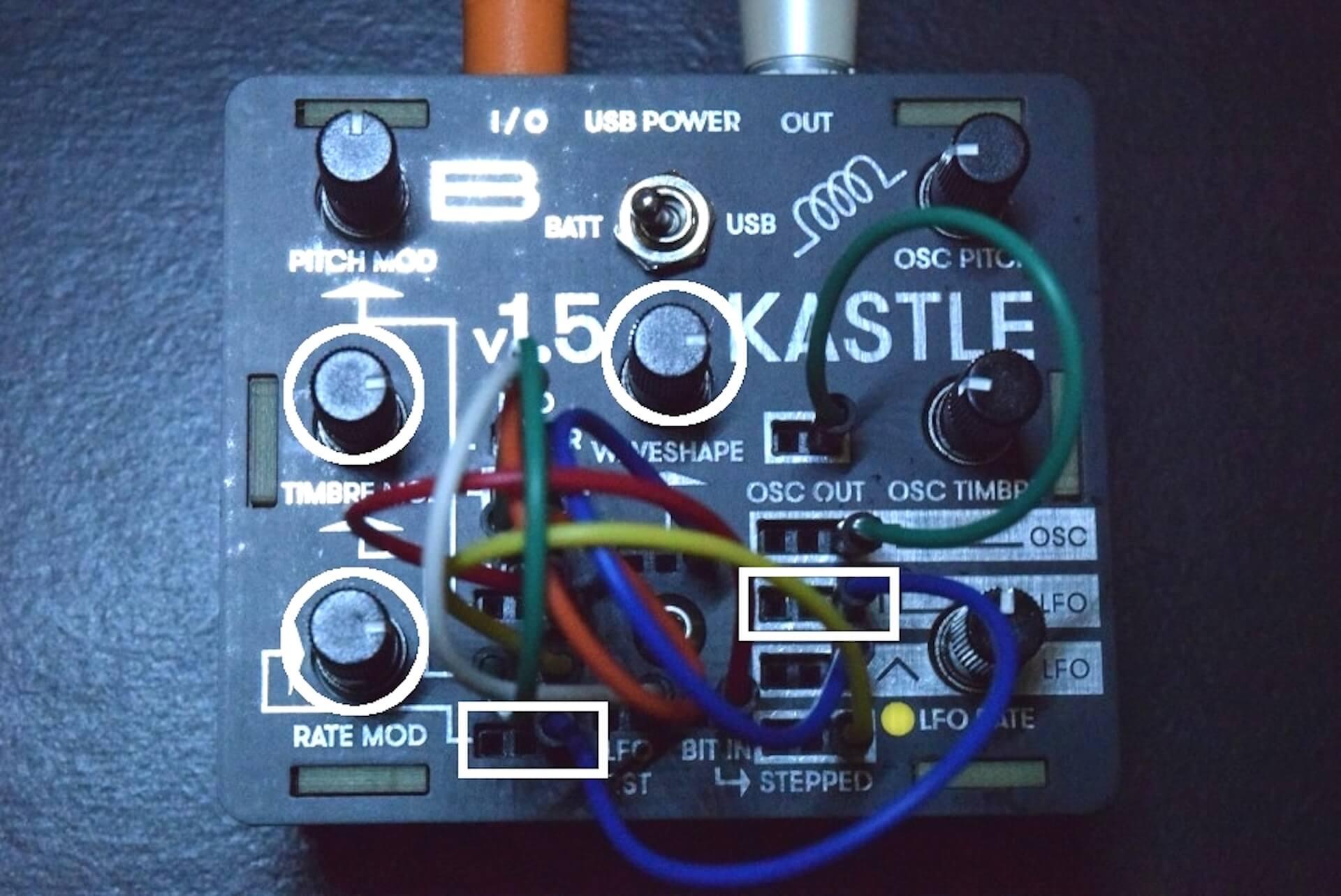 超小型モジュラー・シンセサイザー「KASTLE V1.5」のサウンドと魅力 9b6183b1e95e4e48e46a0e35171e8577