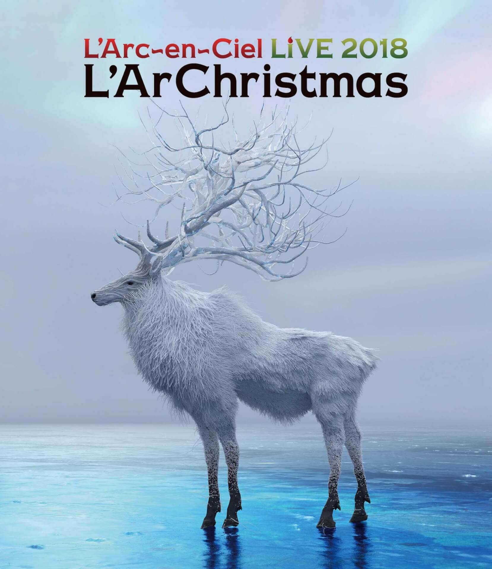 ラルクリ!L'Arc~en~Ciel、昨年のクリスマスライブ<LIVE 2018 L'ArChristmas>をパッケージ化 music191107_larcenciel_3