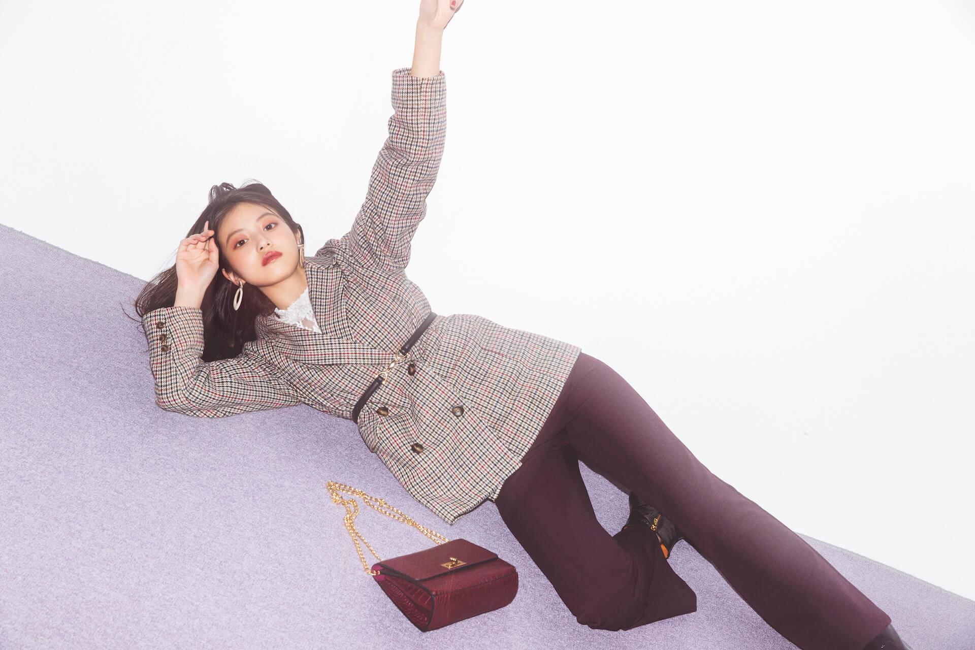 GRLが女優・今田美桜を起用した2019年秋冬ビジュアルを公開|今田美桜からのコメントも到着 lifefashion_1108_grl_1