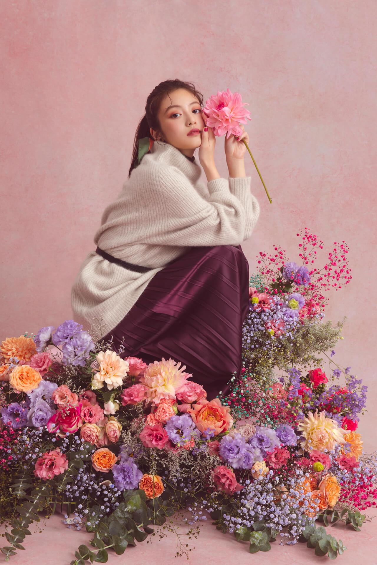 GRLが女優・今田美桜を起用した2019年秋冬ビジュアルを公開|今田美桜からのコメントも到着 lifefashion_1108_grl_3