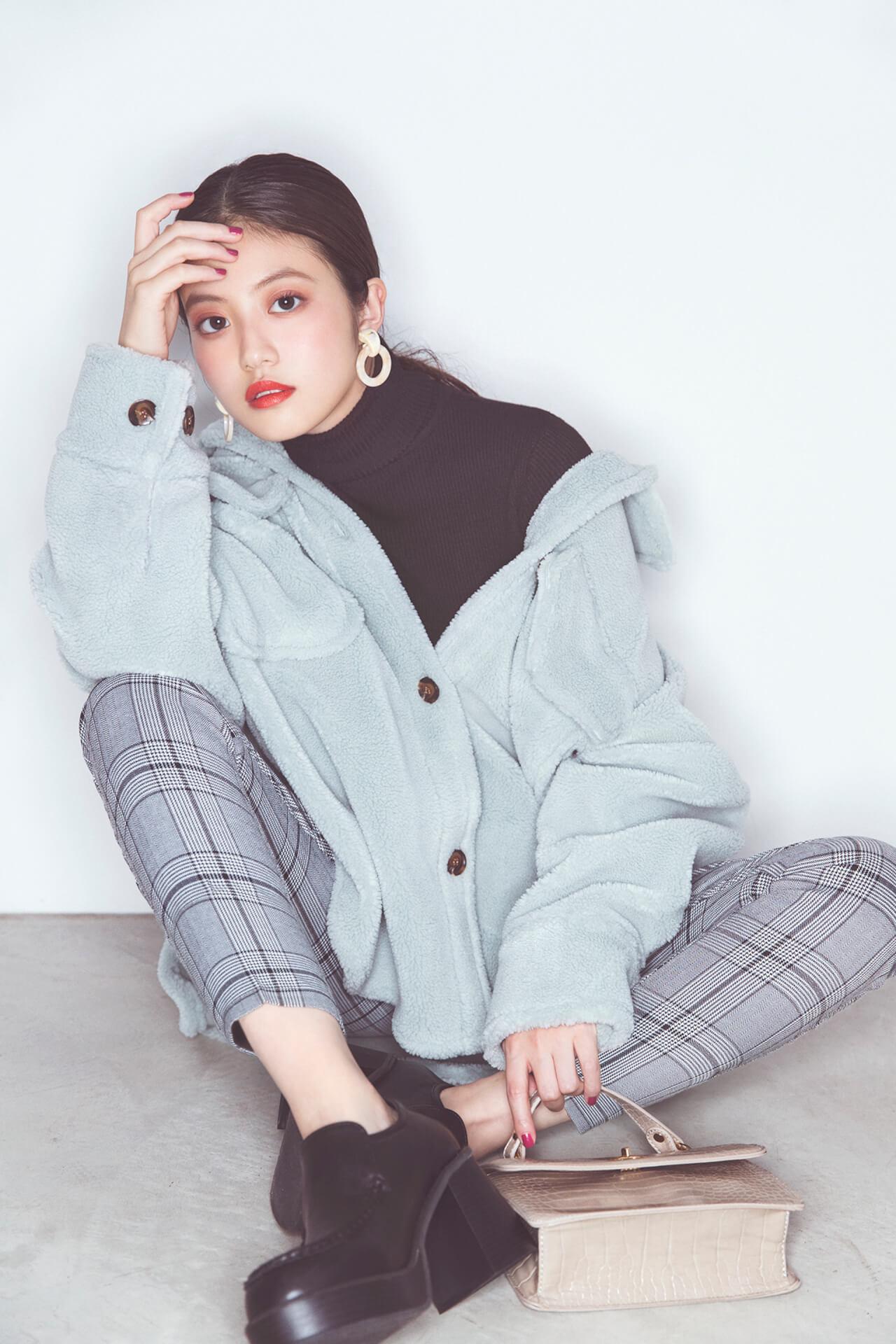 GRLが女優・今田美桜を起用した2019年秋冬ビジュアルを公開|今田美桜からのコメントも到着 lifefashion_1108_grl_6