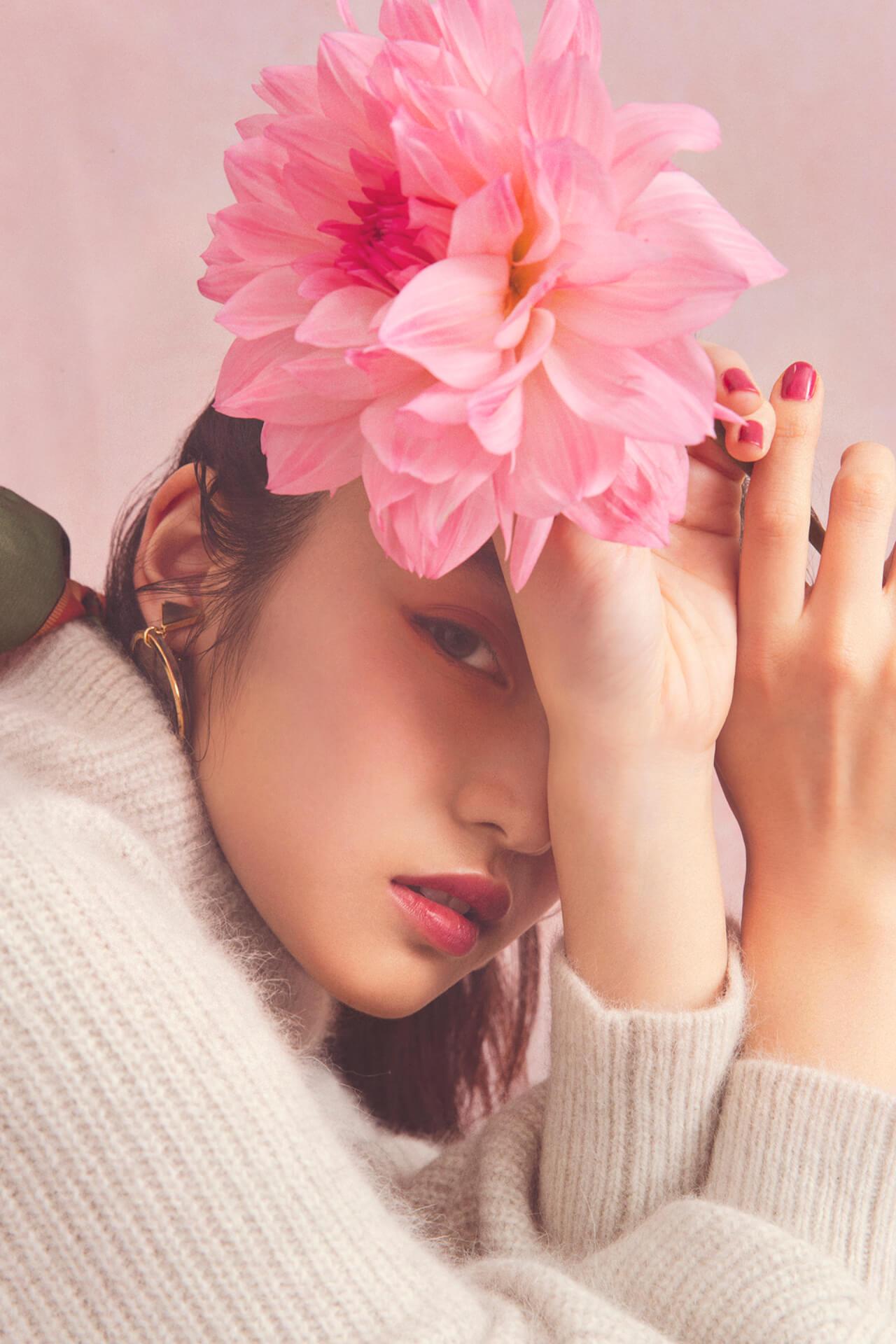 GRLが女優・今田美桜を起用した2019年秋冬ビジュアルを公開|今田美桜からのコメントも到着 lifefashion_1108_grl_9