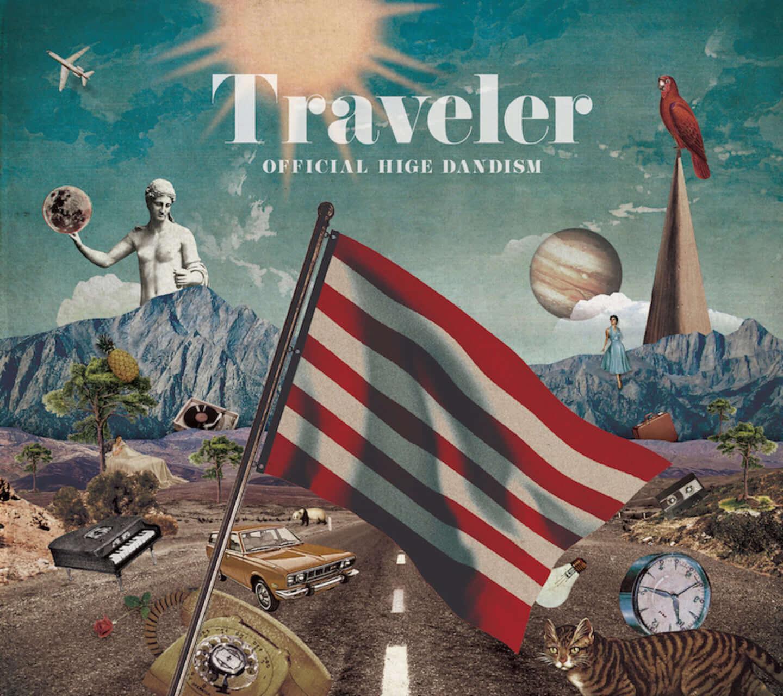 Official髭男dism、『Traveler』リリース!第2弾撮り下ろしスペシャルCMがOA決定 traveler_tsujou_h1-2-1440x1280