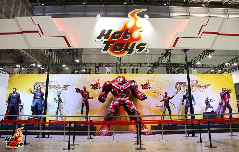 アイアンマンに、キャプテン・アメリカに、ソーが<東京コミコン>であなたをお出迎え!ホットトイズ最大規模のブースが登場 img_198498_9-1440x919