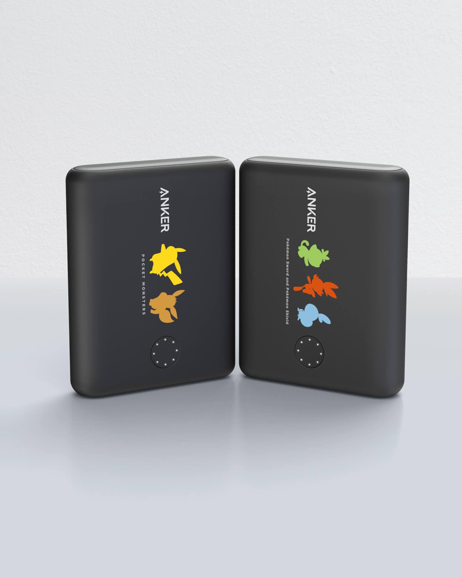 ポケモンがAnker充電器に!Nintendo Switch対応の大容量バッテリー「Anker PowerCore 13400 Pokémon Limited Edition」が登場 tech_191114_ankerxpokemon_1