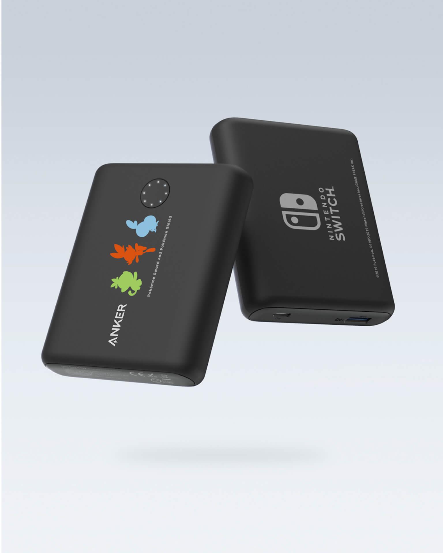 ポケモンがAnker充電器に!Nintendo Switch対応の大容量バッテリー「Anker PowerCore 13400 Pokémon Limited Edition」が登場 tech_191114_ankerxpokemon_2