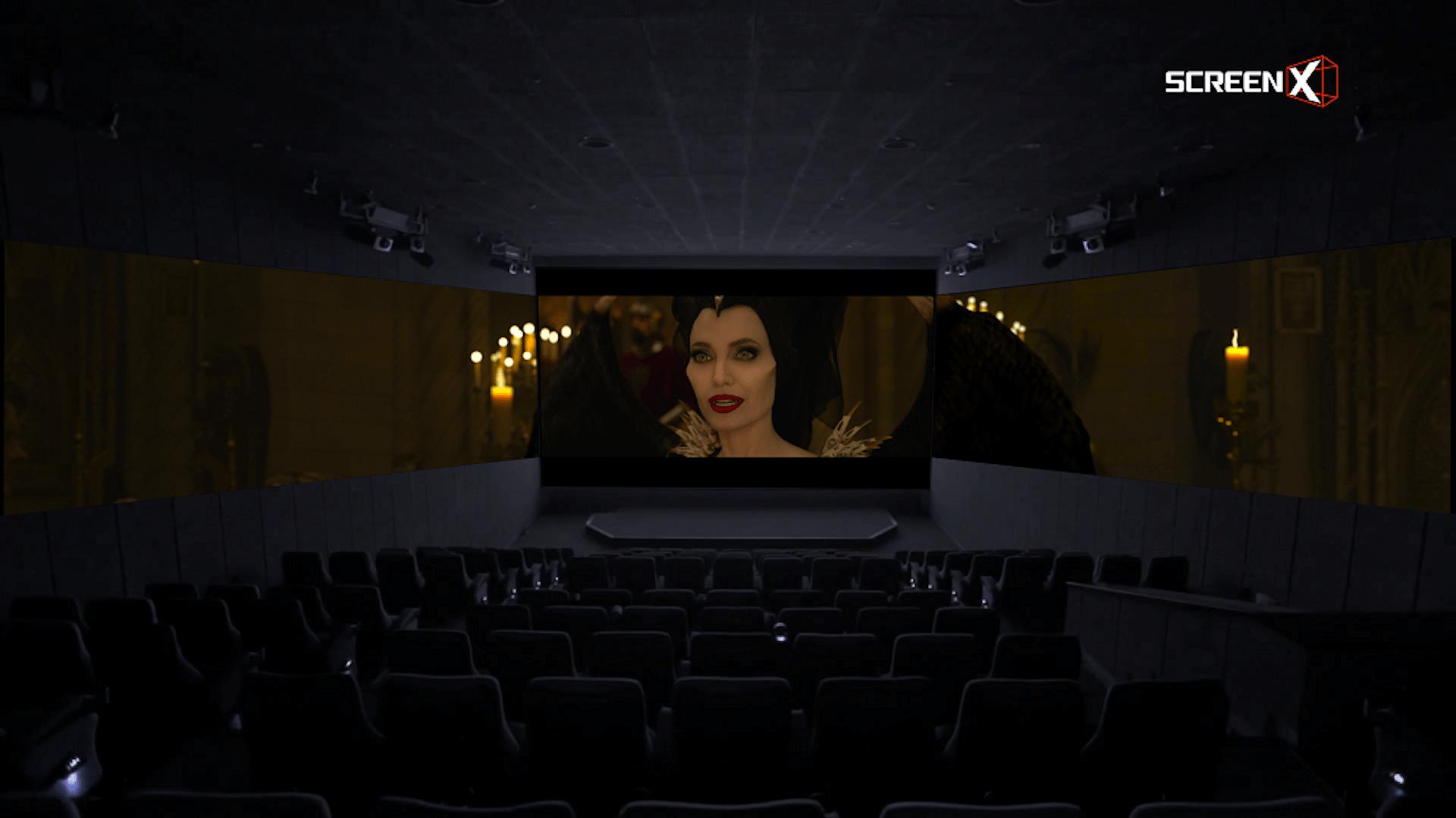 """新次元の上映システム""""ScreenX""""で、マレフィセントと大空へ!『マレフィセント2』公開に先駆け、ScreenX版・特別映像が到着 film191015_-Maleficent2_05"""
