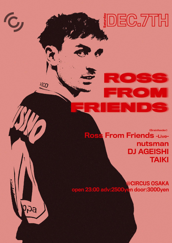 Ross From Friends初クラブツアーの出演者が決定|東京公演をCYKがトータルオーガナイズ music191119_rfftour2019_2-1920x2716